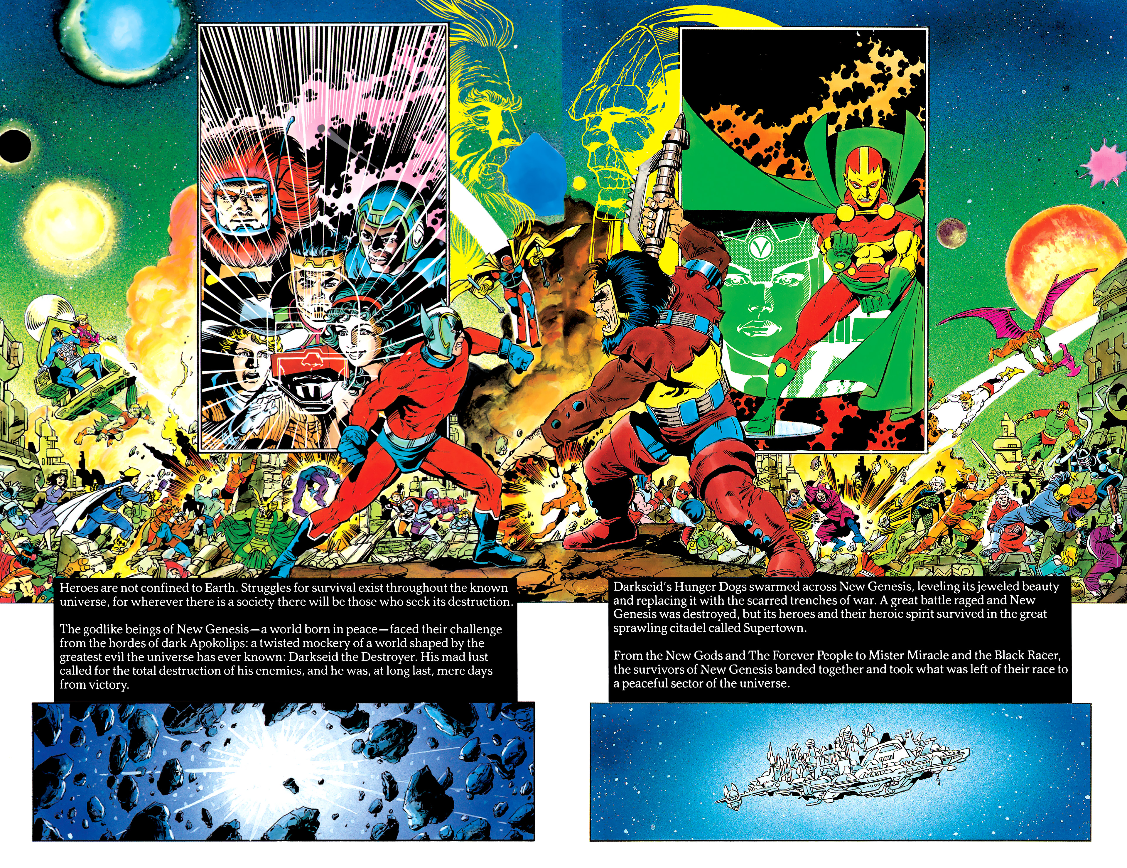 Read online History of the DC Universe comic -  Issue #2 - 25
