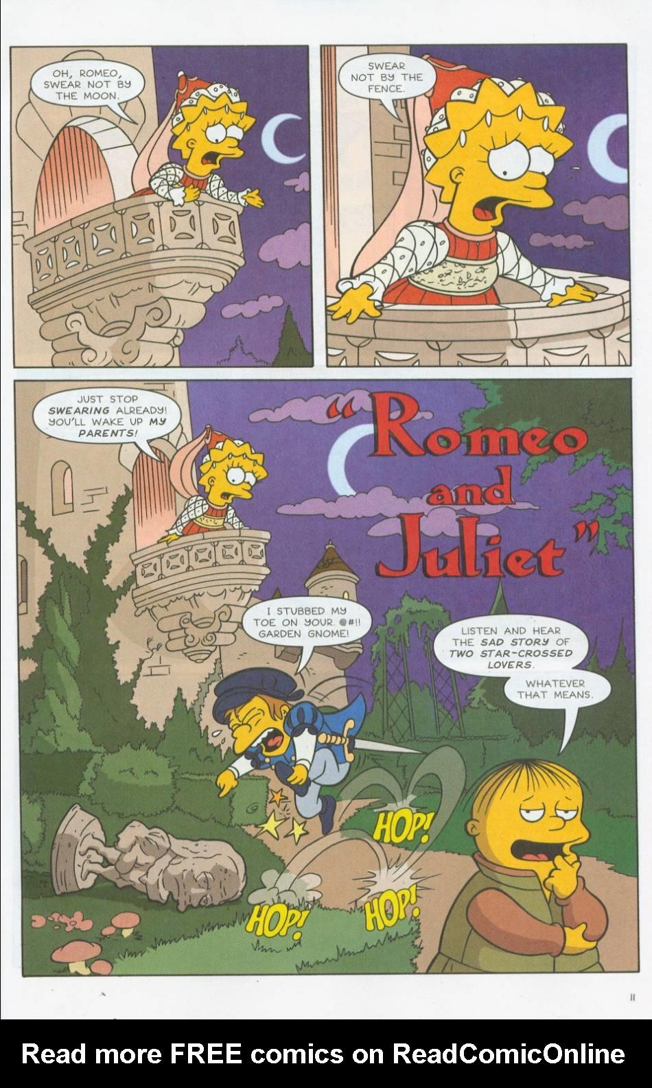 Read online Simpsons Comics comic -  Issue #76 - 12