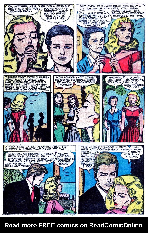 Love Romances (1949) issue 52 - Page 22