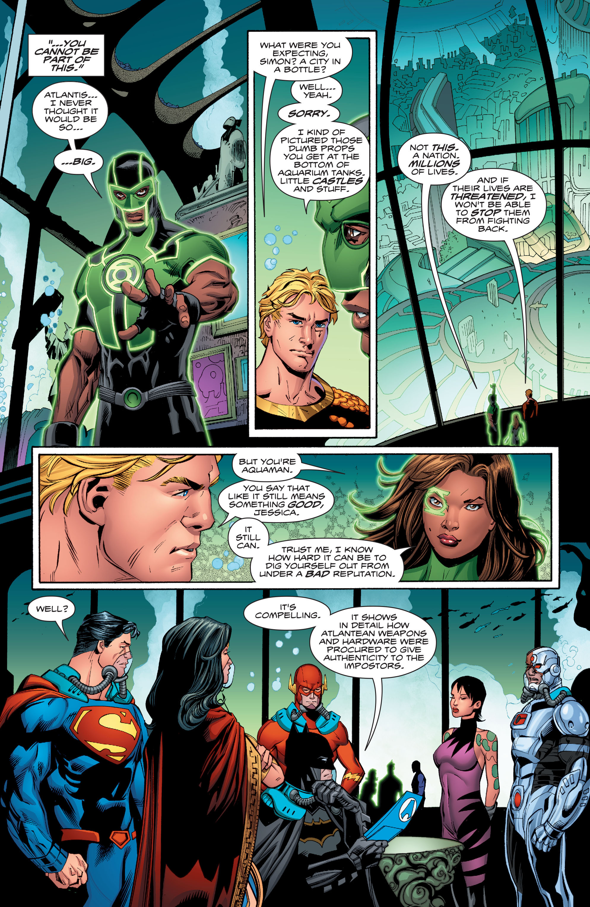 Read online Aquaman (2016) comic -  Issue #13 - 10