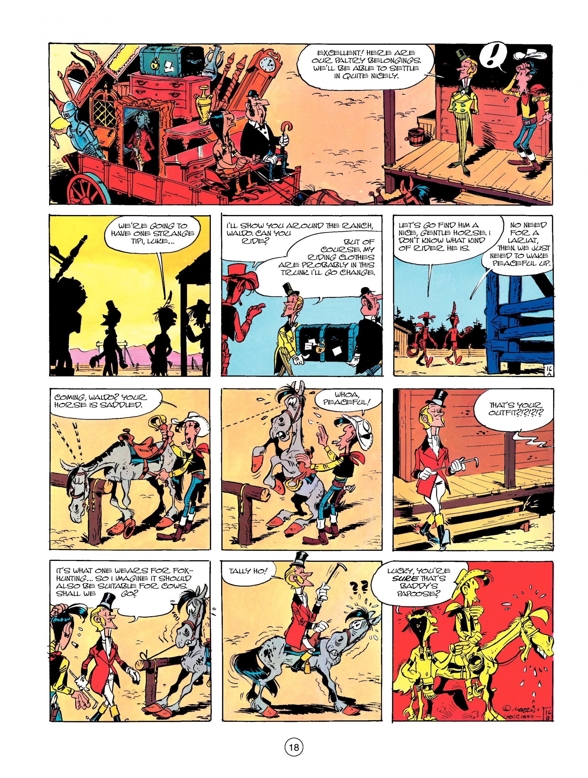 Read online A Lucky Luke Adventure comic -  Issue #13 - 18