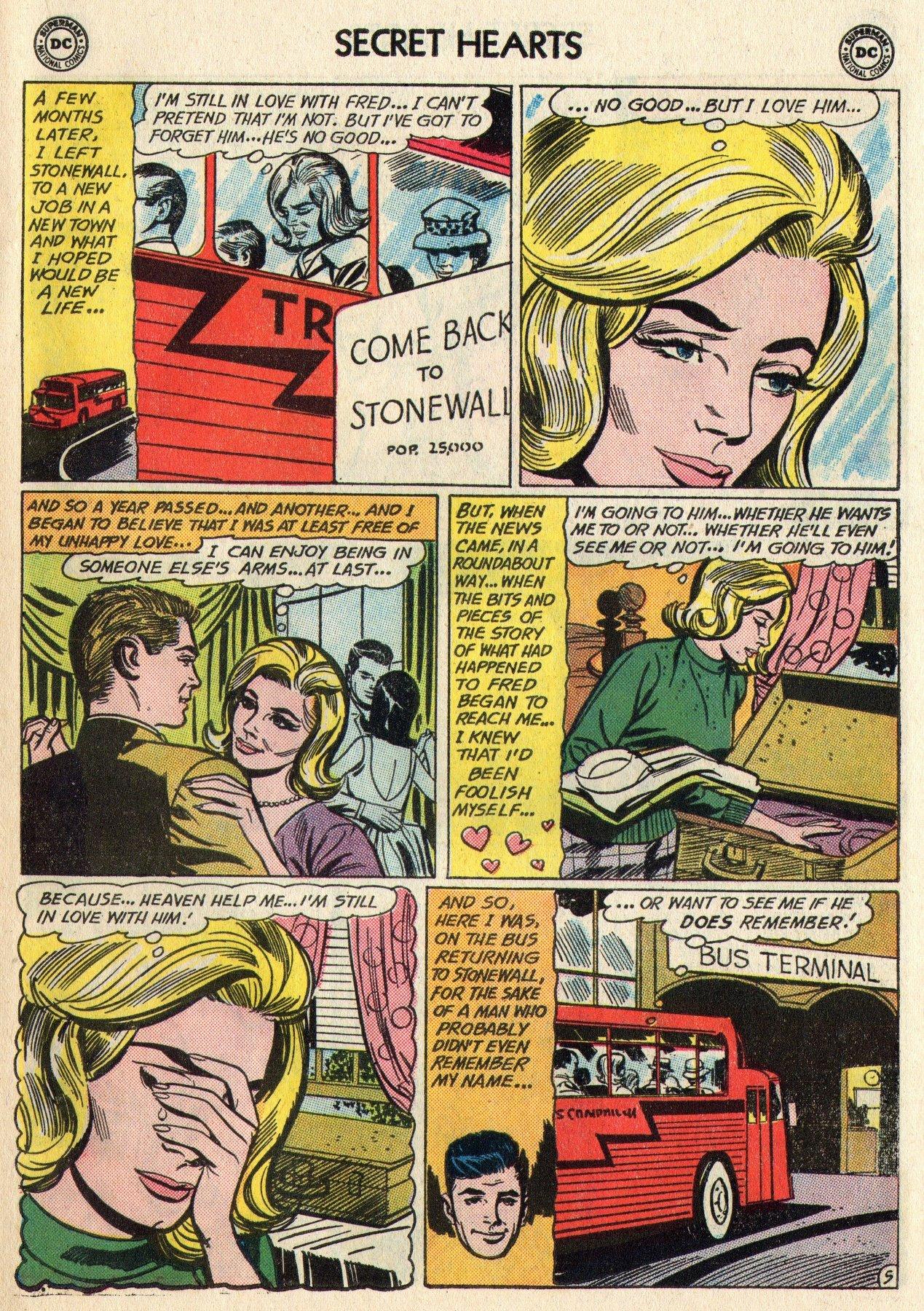 Read online Secret Hearts comic -  Issue #95 - 15