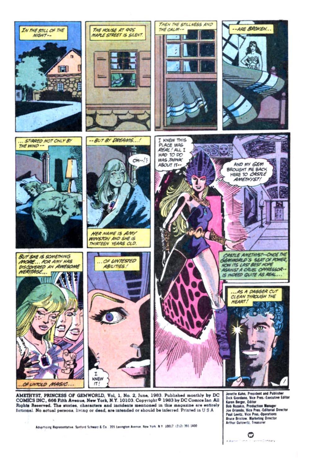 Read online Amethyst, Princess of Gemworld comic -  Issue #2 - 2