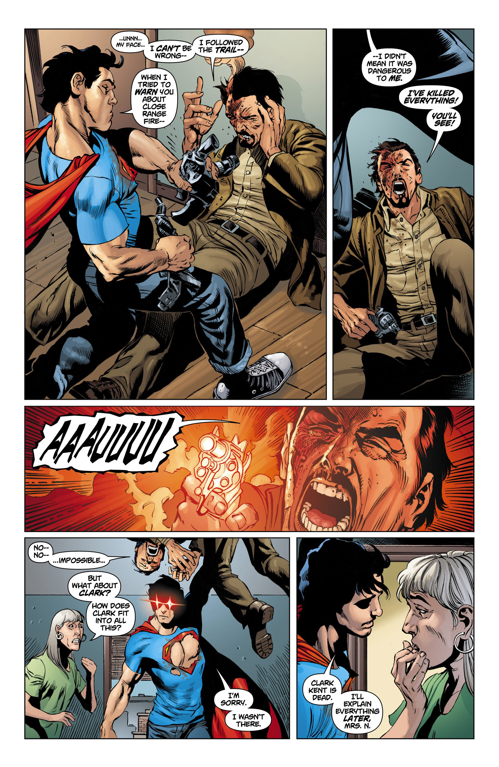 Read online Action Comics (2011) comic -  Issue #10 - 19
