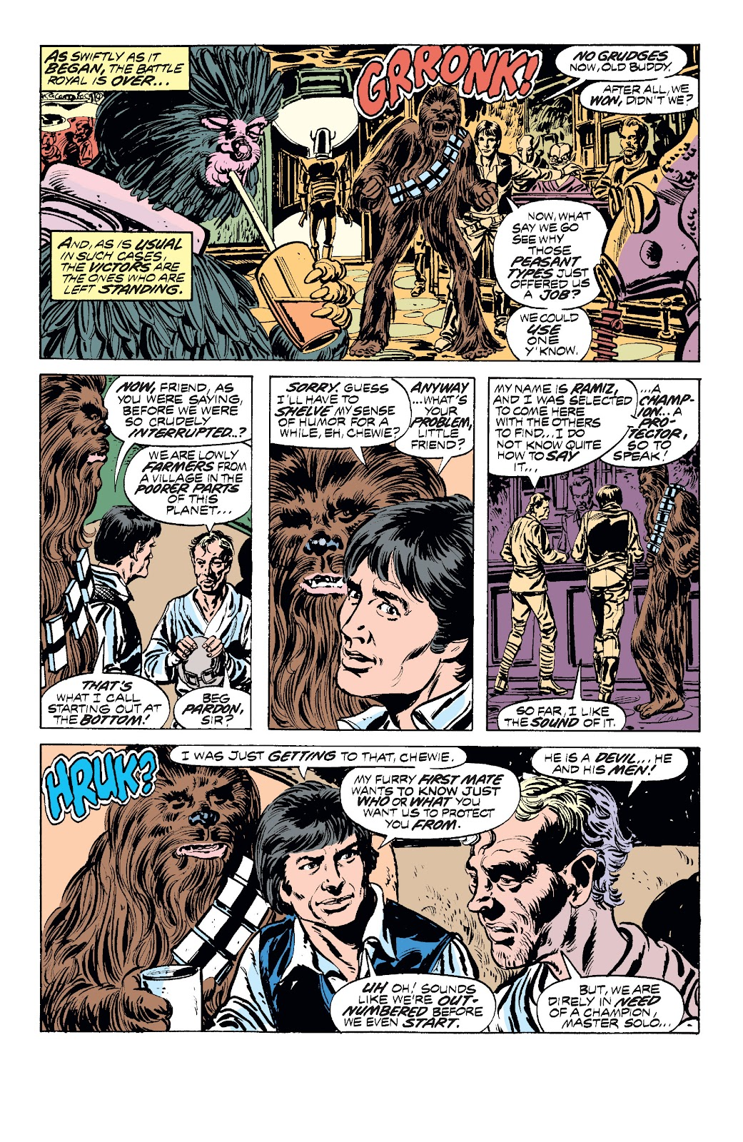 Read online Star Wars Legends: The Original Marvel Years - Epic Collection comic -  Issue # TPB 1 (Part 2) - 40