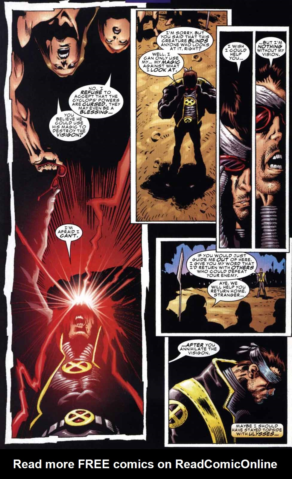 Read online Cyclops (2001) comic -  Issue #3 - 12