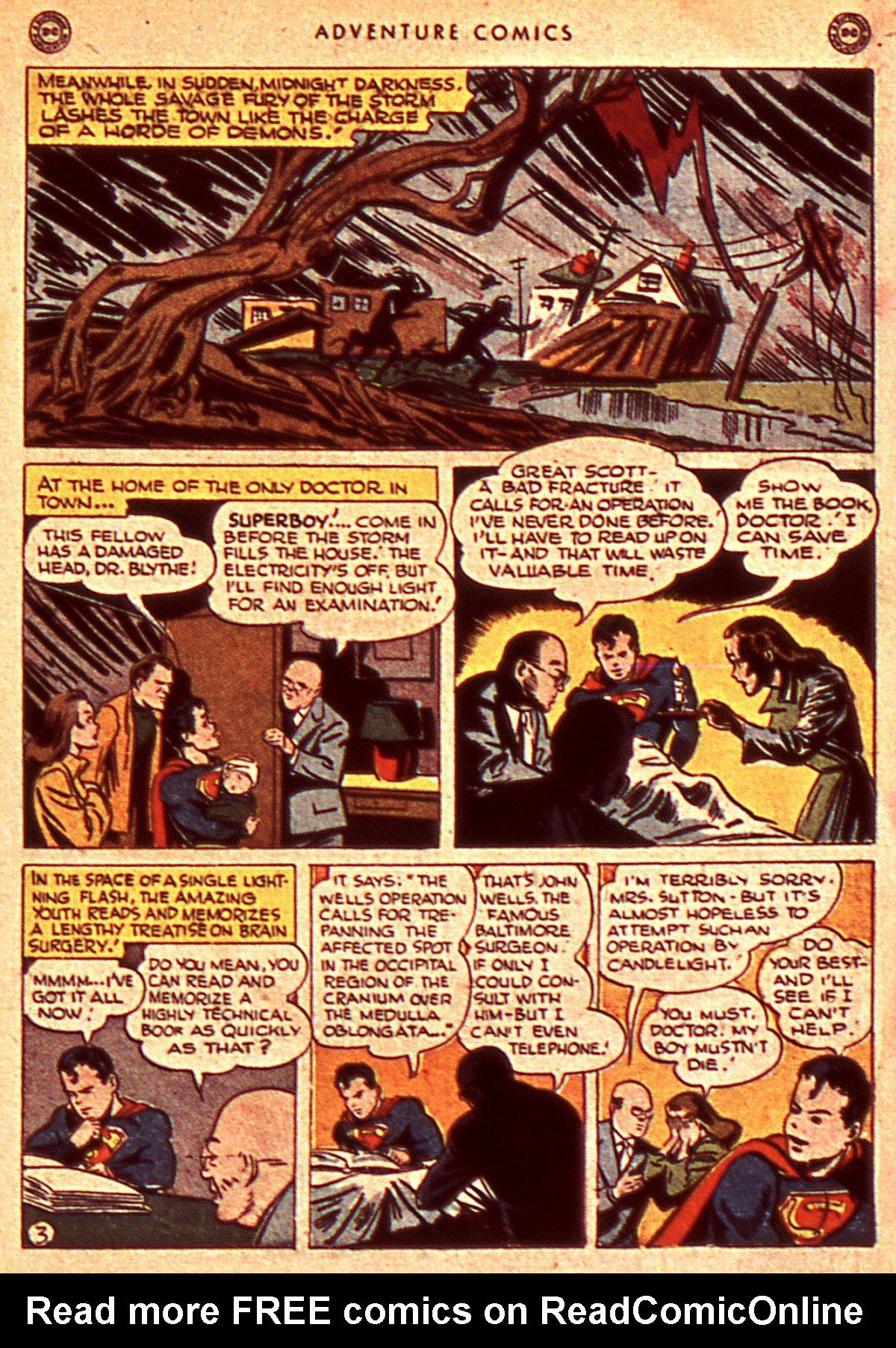 Read online Adventure Comics (1938) comic -  Issue #106 - 5