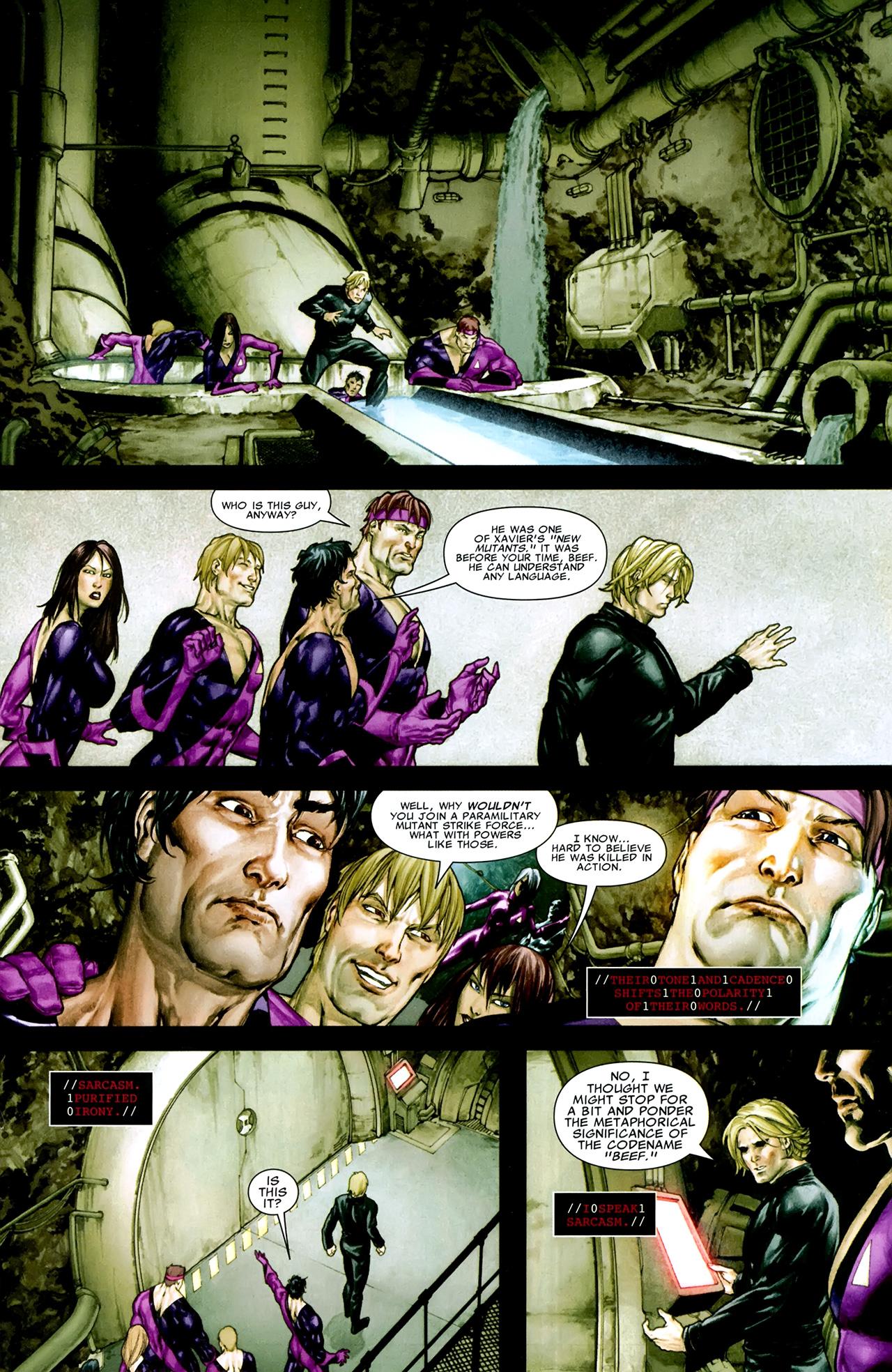 Read online X Necrosha comic -  Issue # Full - 35