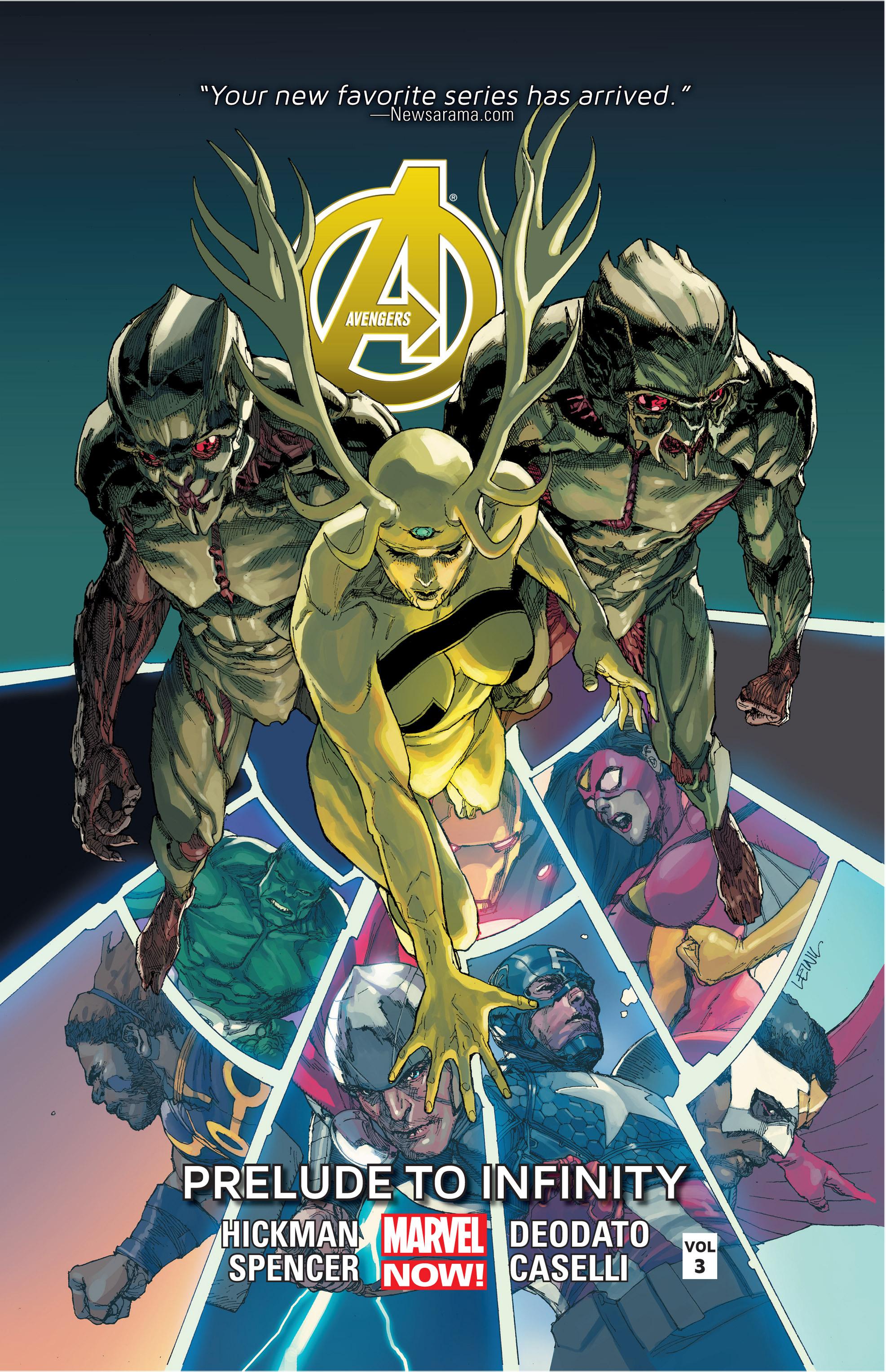 Read online Avengers (2013) comic -  Issue #Avengers (2013) _TPB 3 - 1