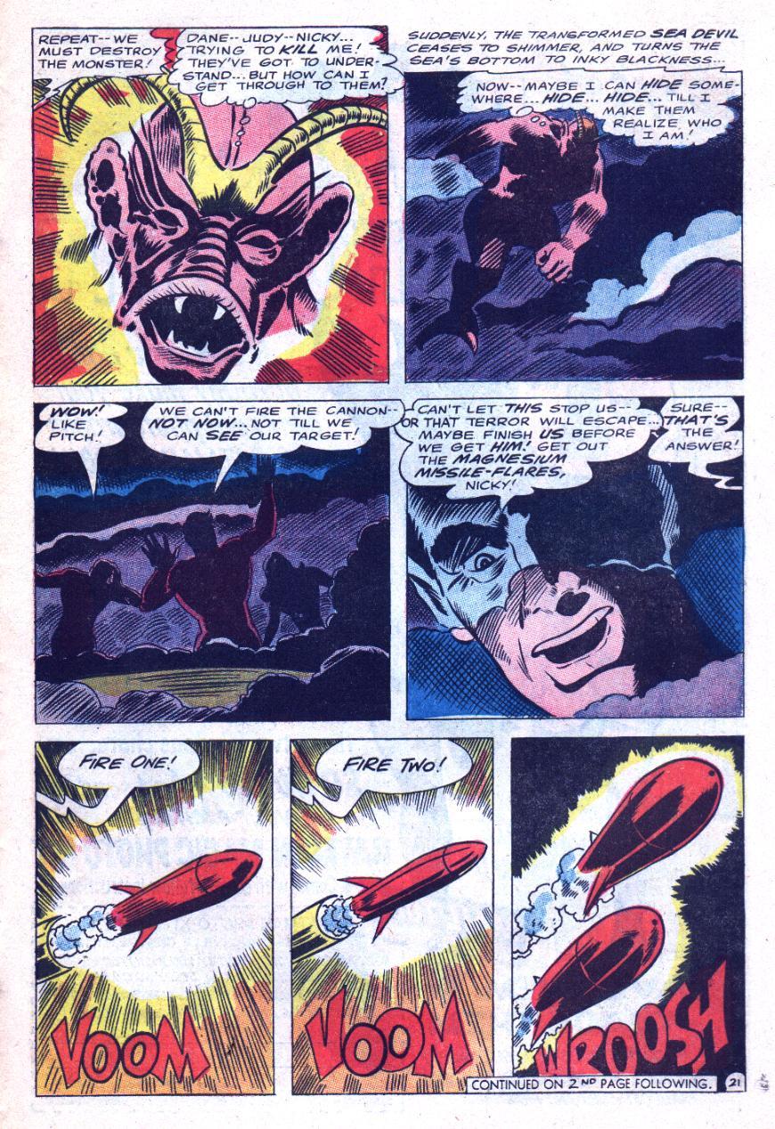 Read online Sea Devils comic -  Issue #31 - 28