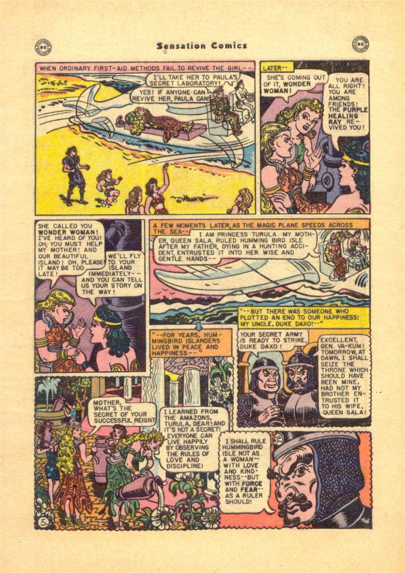 Read online Sensation (Mystery) Comics comic -  Issue #84 - 7