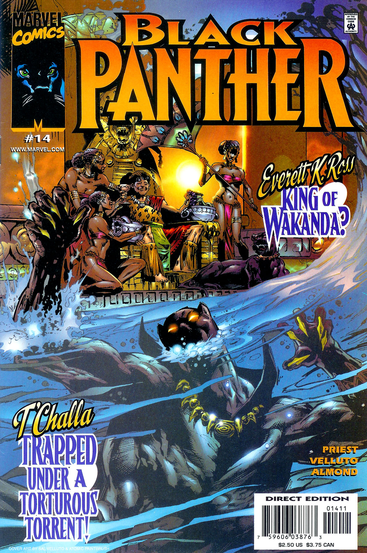 Black Panther (1998) 14 Page 1