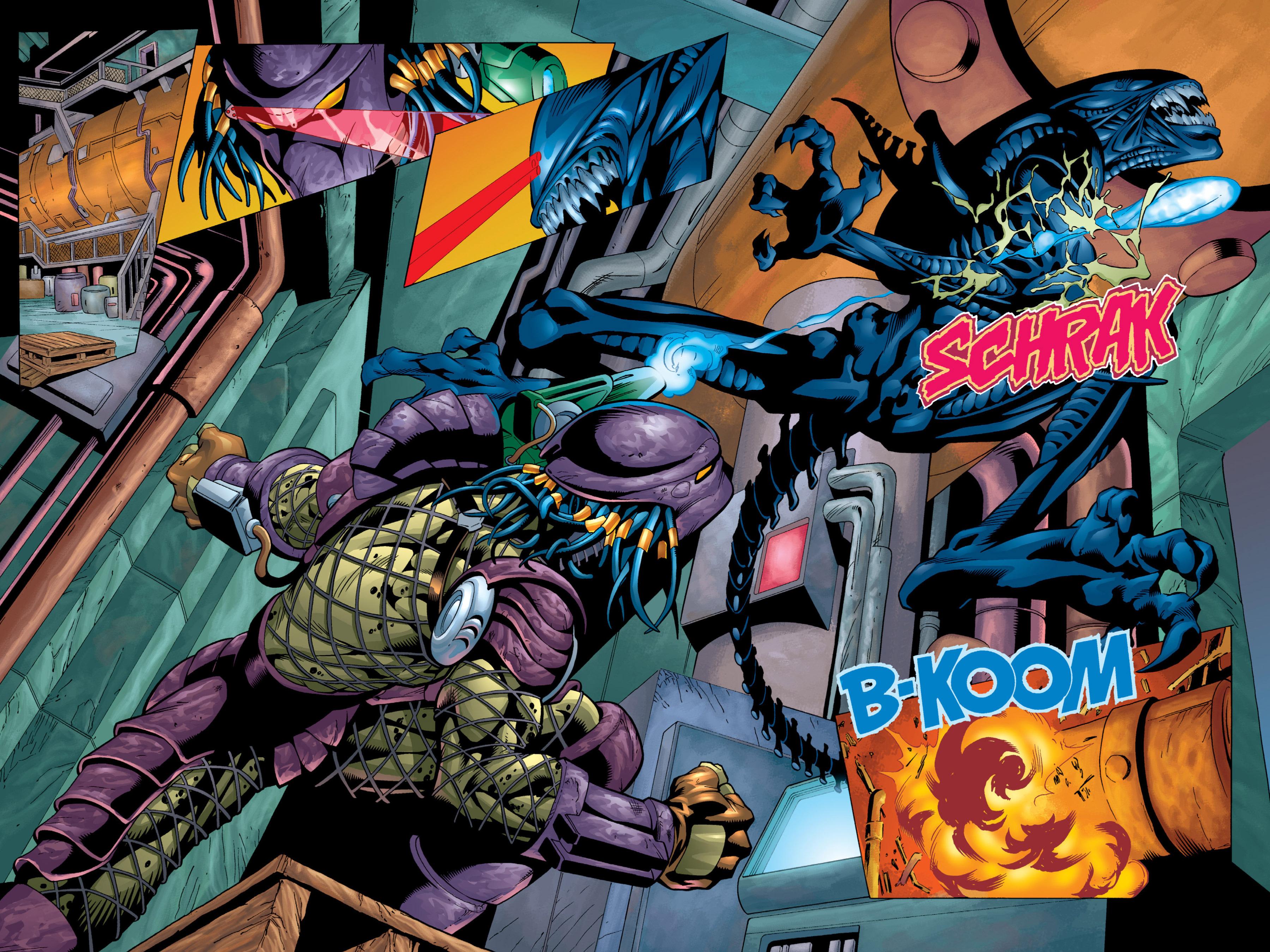 Read online Aliens vs. Predator Omnibus comic -  Issue # _TPB 2 Part 4 - 53