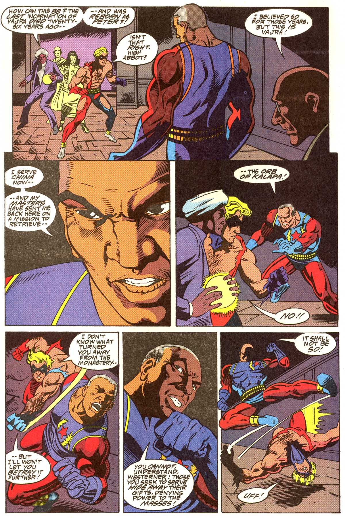 Read online Peter Cannon--Thunderbolt (1992) comic -  Issue #12 - 3