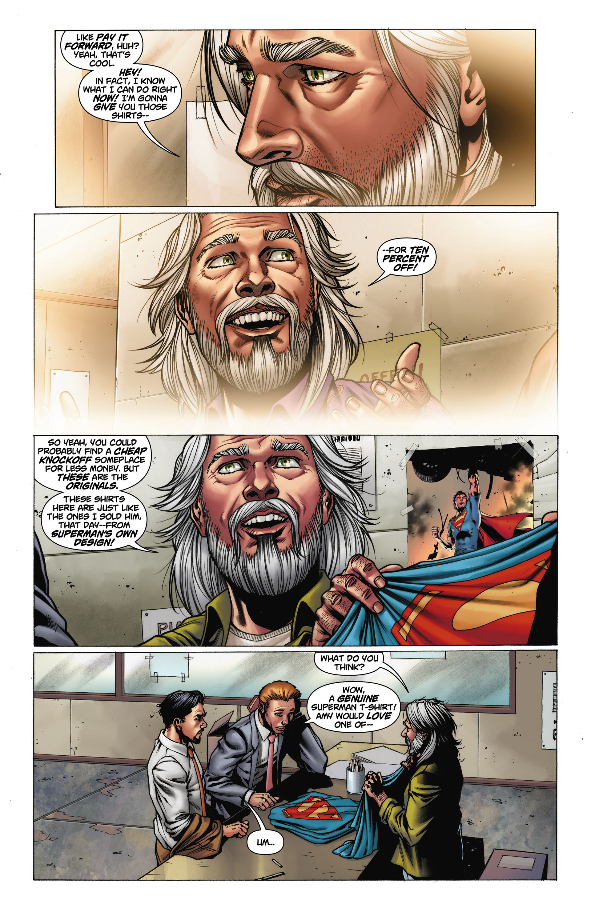 Read online Action Comics (2011) comic -  Issue #11 - 27