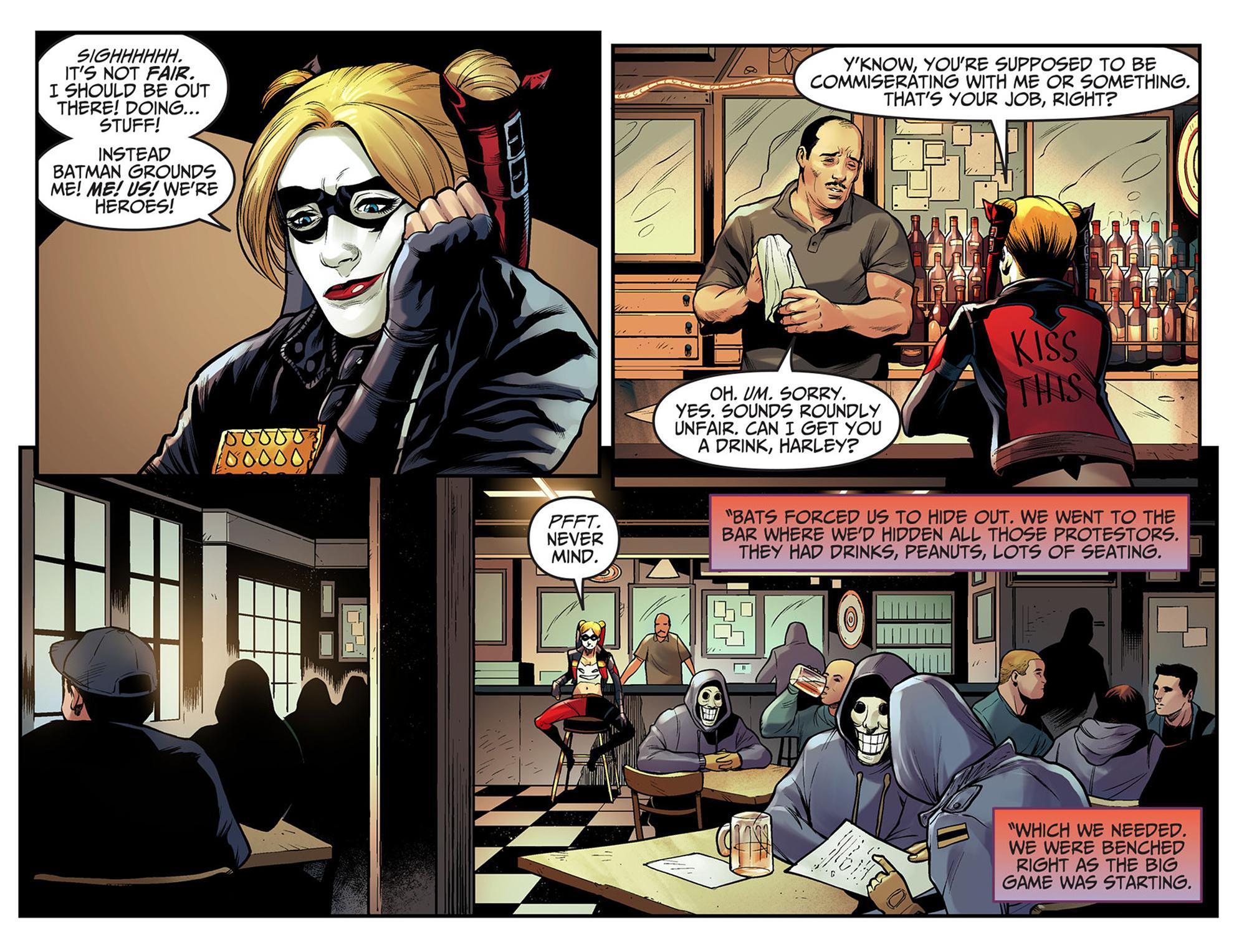 Read online Injustice: Ground Zero comic -  Issue #7 - 4