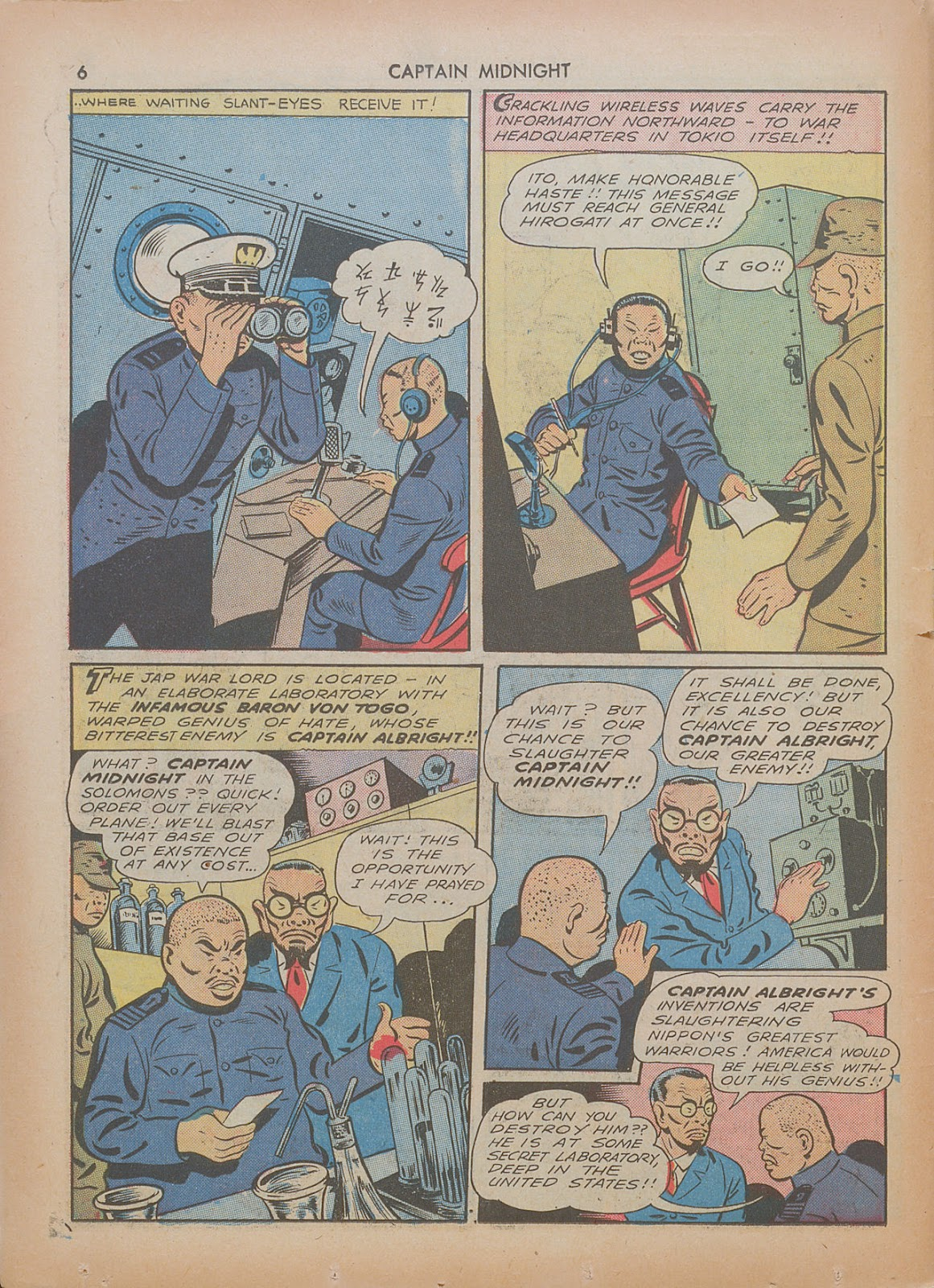 Captain Midnight (1942) issue 7 - Page 6