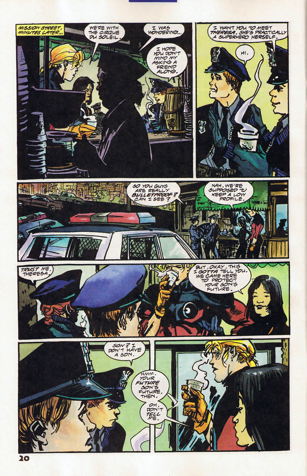 Read online Shadow Cabinet comic -  Issue #11 - 16