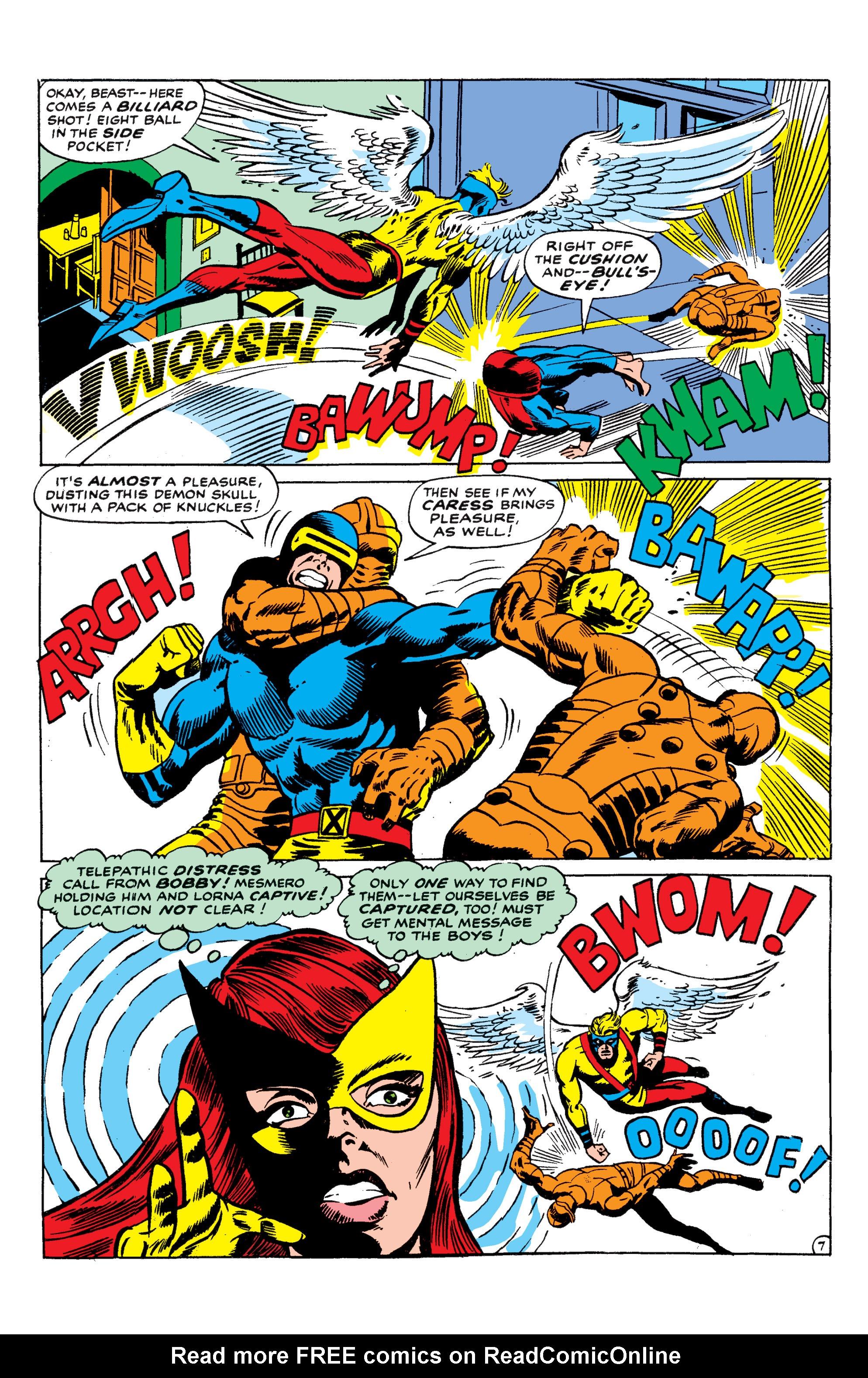 Read online Uncanny X-Men (1963) comic -  Issue #50 - 7