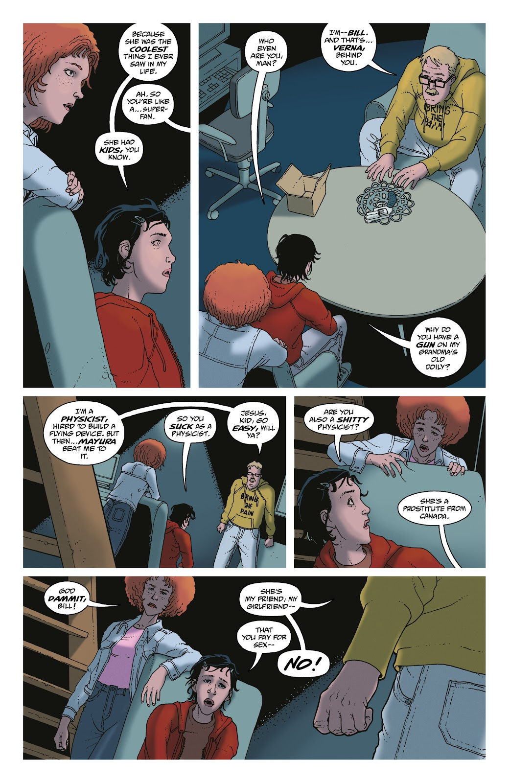 Read online She Could Fly comic -  Issue # _TPB - 80