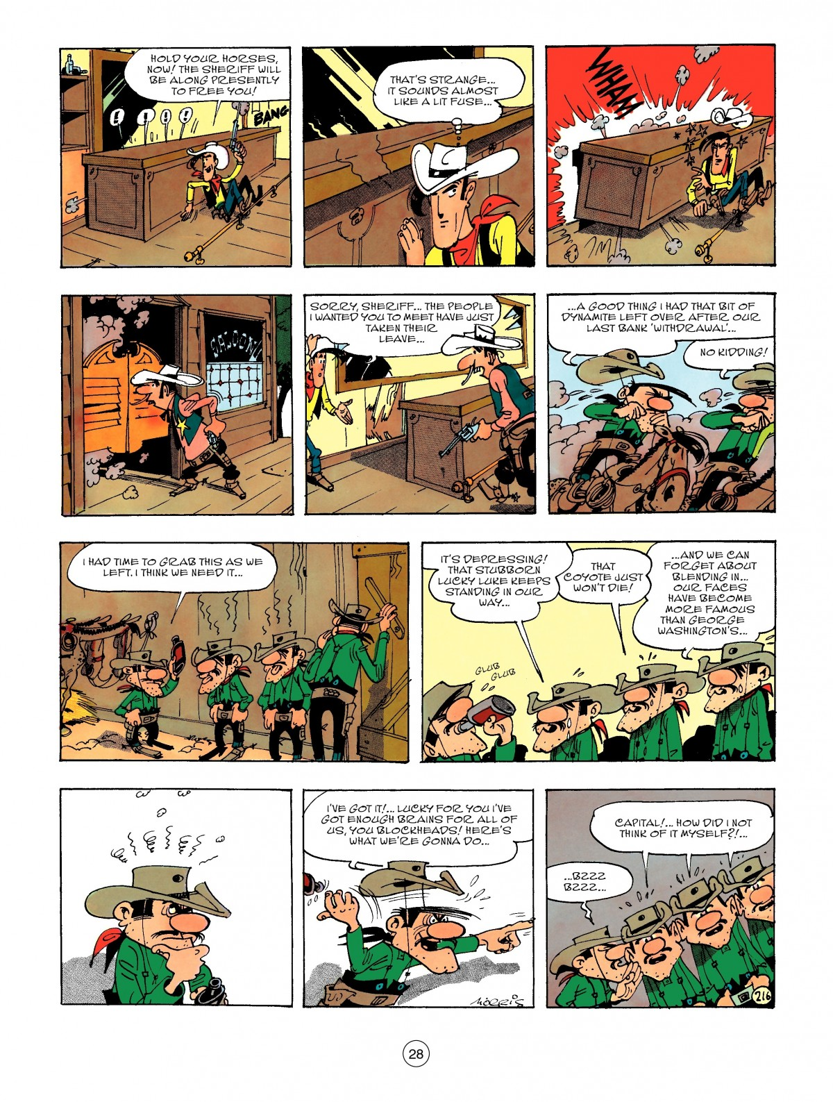 Read online A Lucky Luke Adventure comic -  Issue #47 - 28