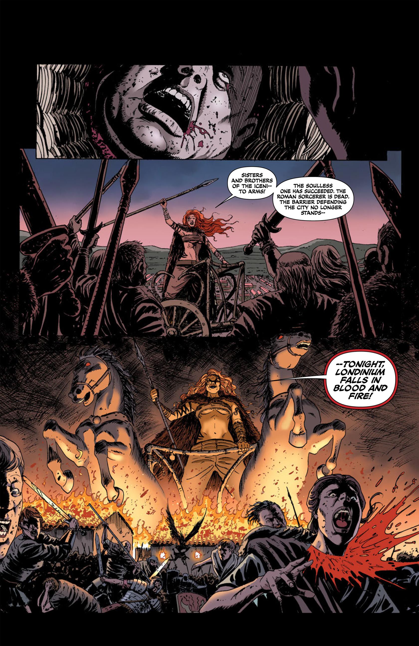 Read online Aquila comic -  Issue #2 - 7