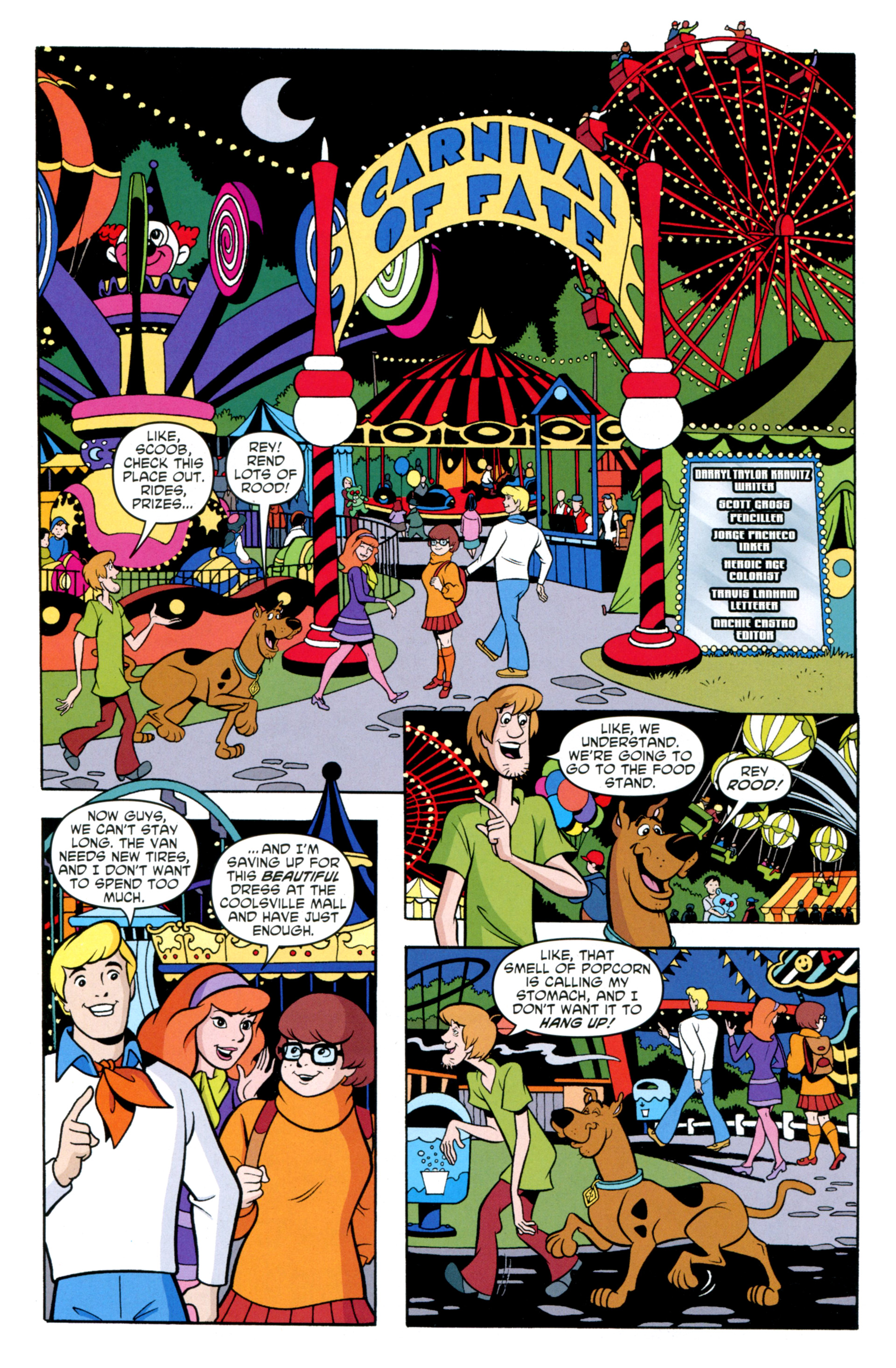 Read online Scooby-Doo: Where Are You? comic -  Issue #34 - 22