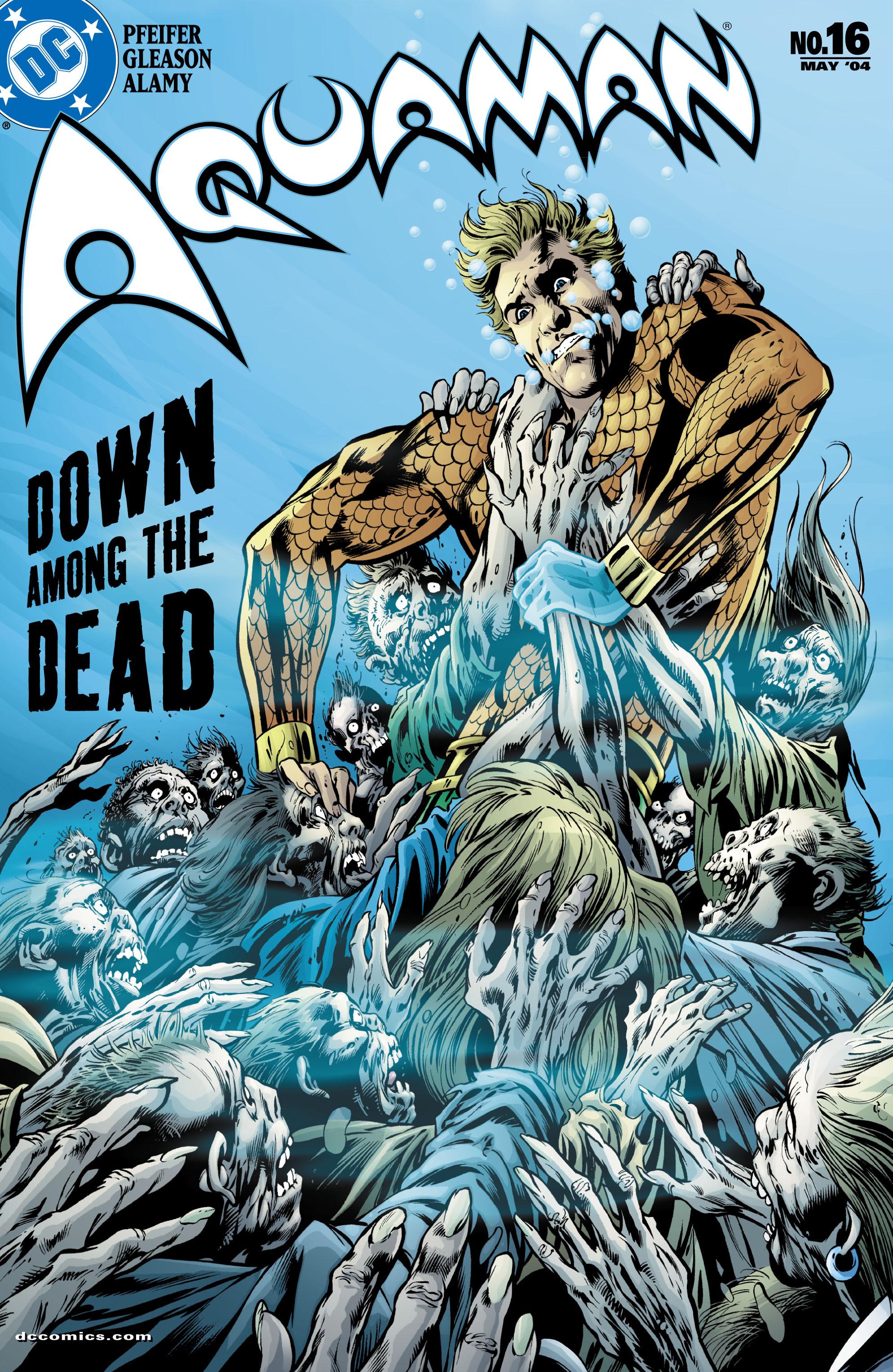 Read online Aquaman (2003) comic -  Issue #16 - 1