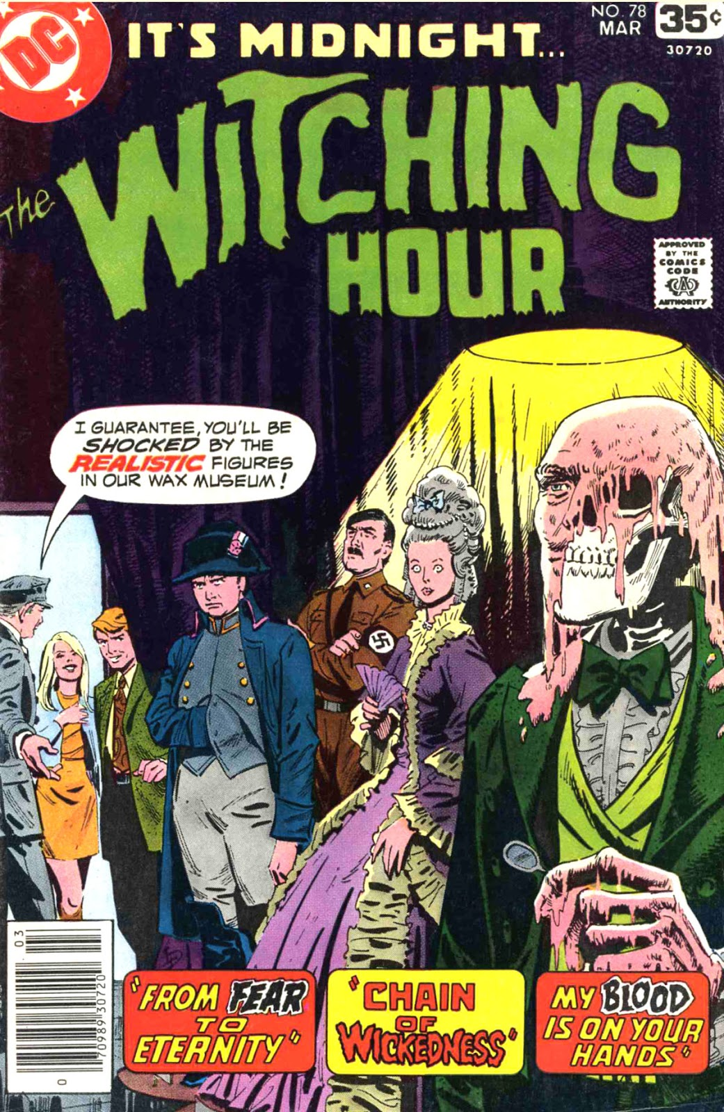 The Witching Hour (1969) issue 78 - Page 1