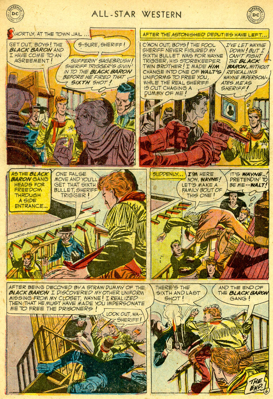 Read online All-Star Western (1951) comic -  Issue #68 - 8