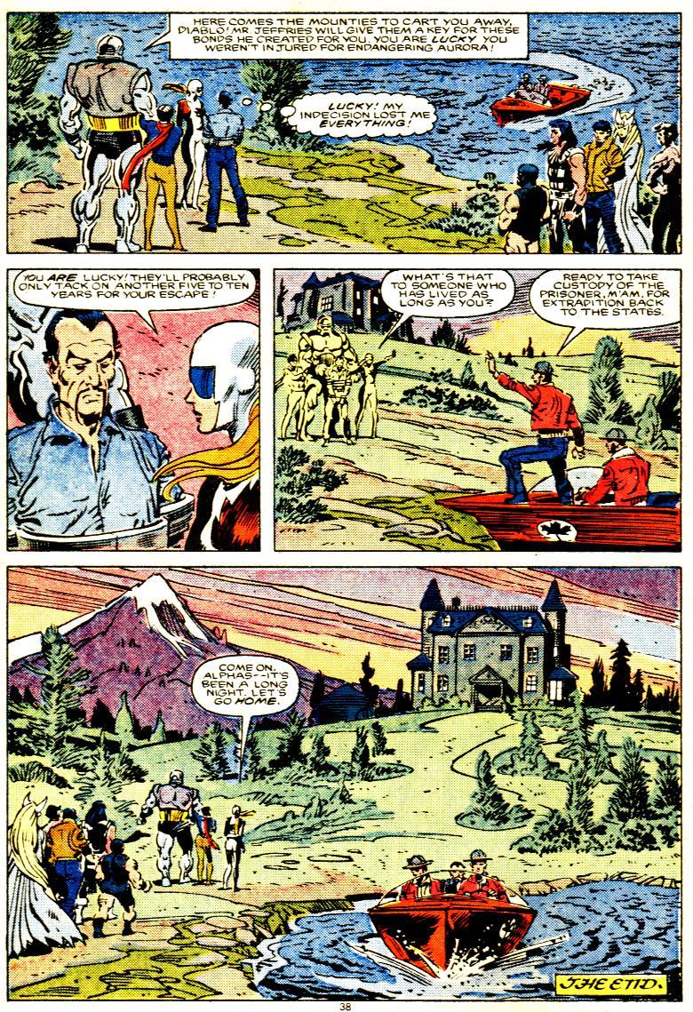 Read online Alpha Flight (1983) comic -  Issue # _Annual 1 - 39