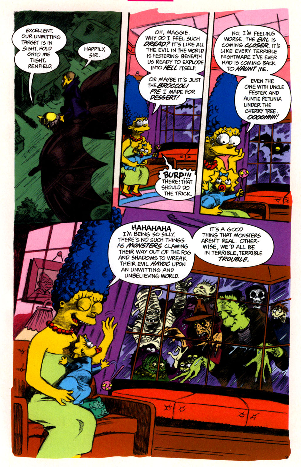 Read online Treehouse of Horror comic -  Issue #11 - 12