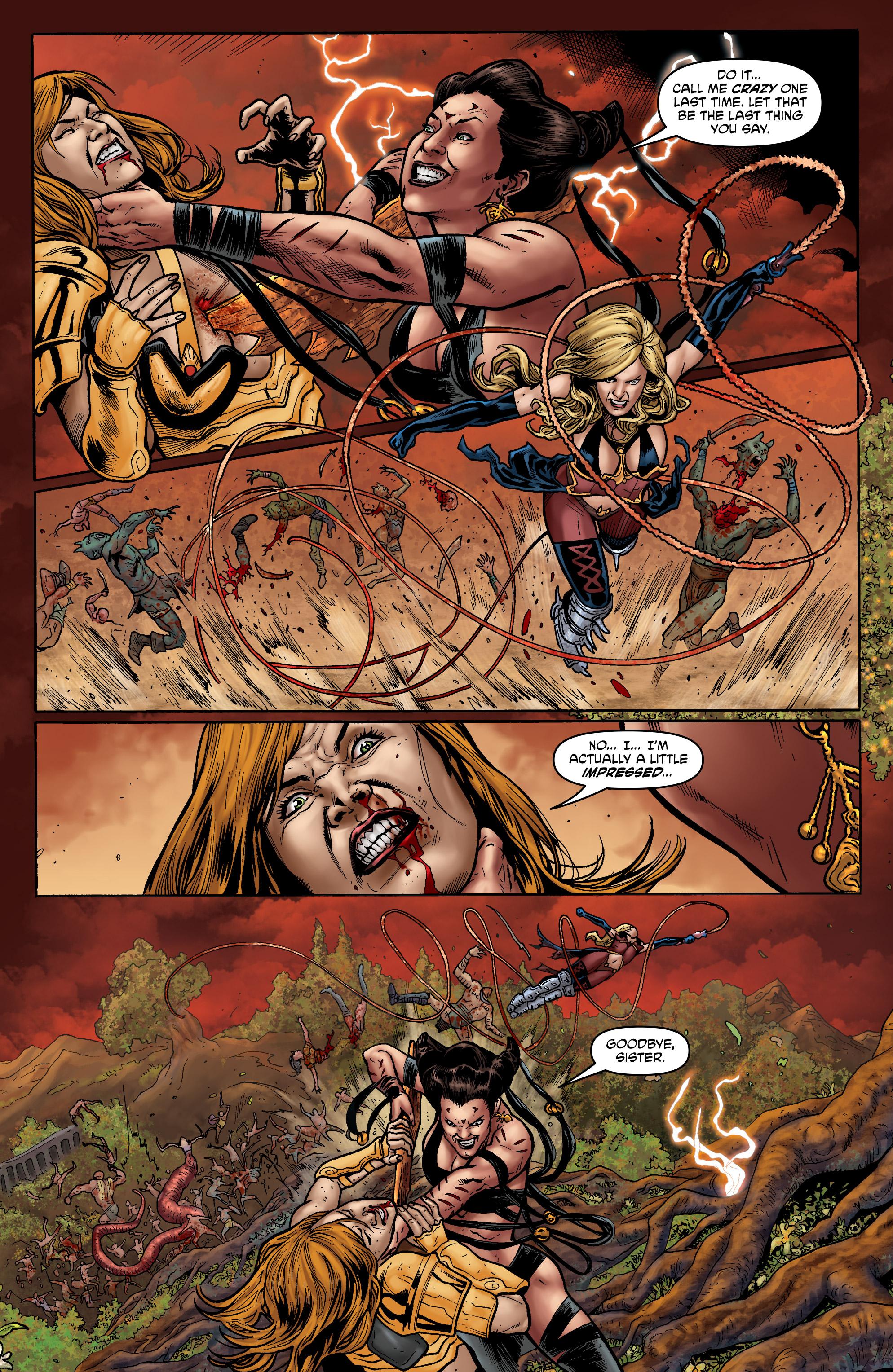 Read online Hellina: Scythe comic -  Issue #4 - 11