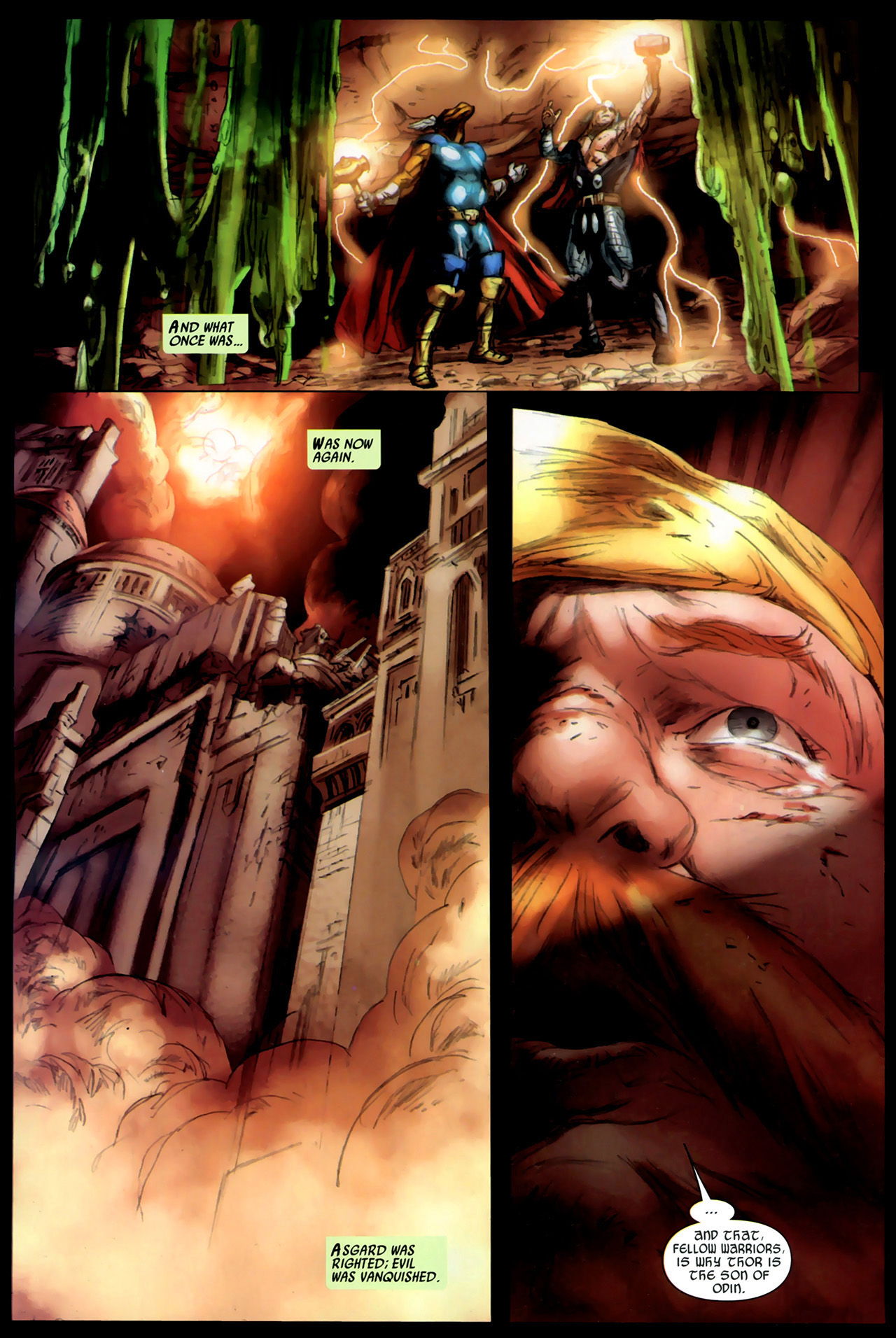 Read online Secret Invasion: Thor comic -  Issue #3 - 22