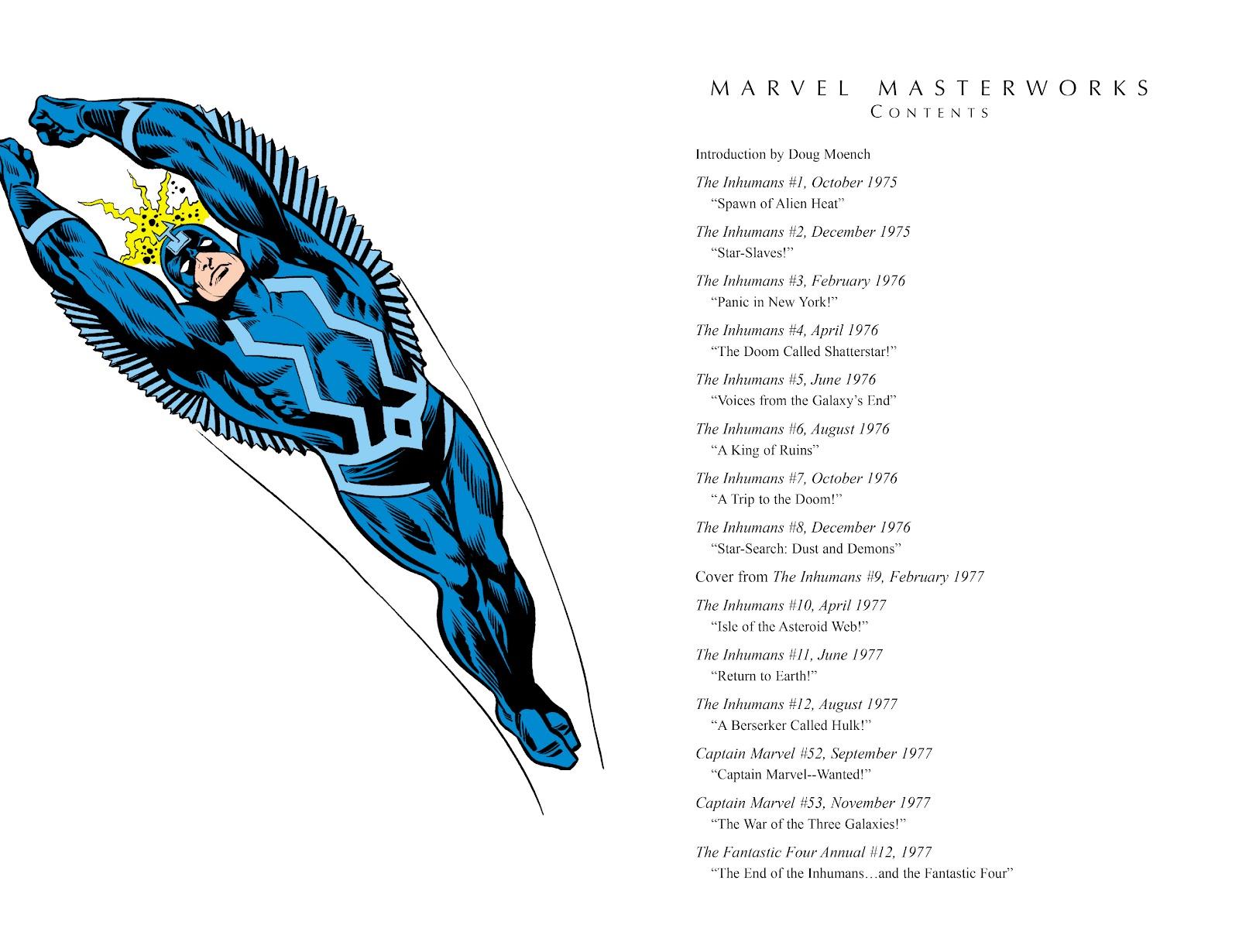 Read online Marvel Masterworks: The Inhumans comic -  Issue # TPB 2 (Part 1) - 4