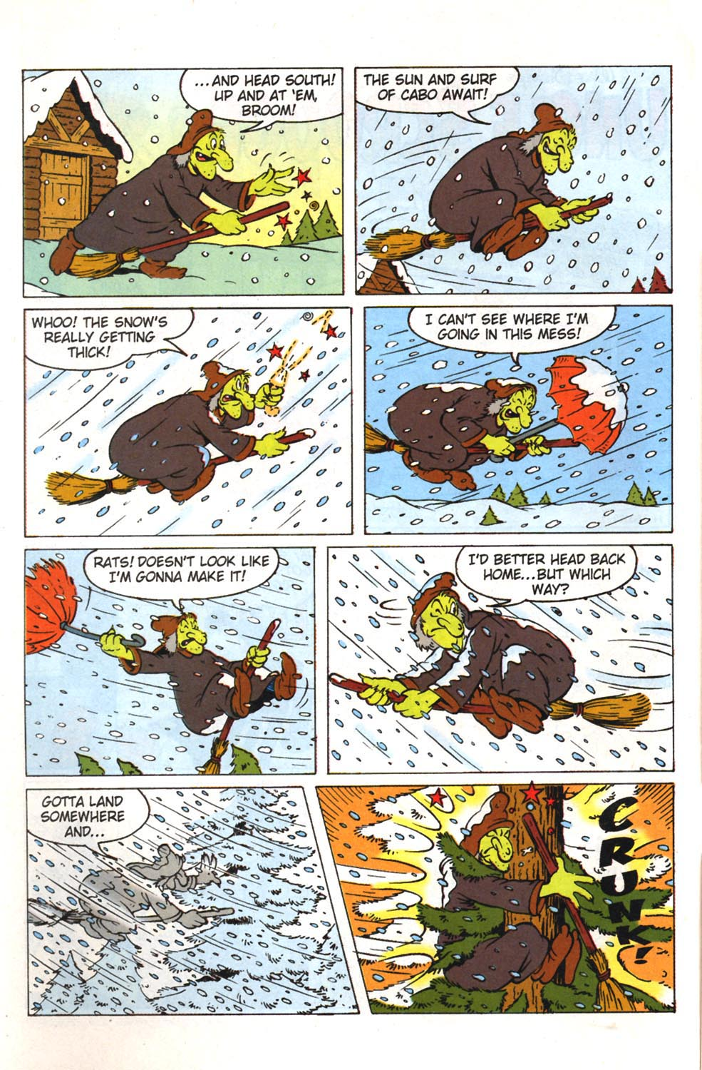 Read online Uncle Scrooge (1953) comic -  Issue #308 - 4