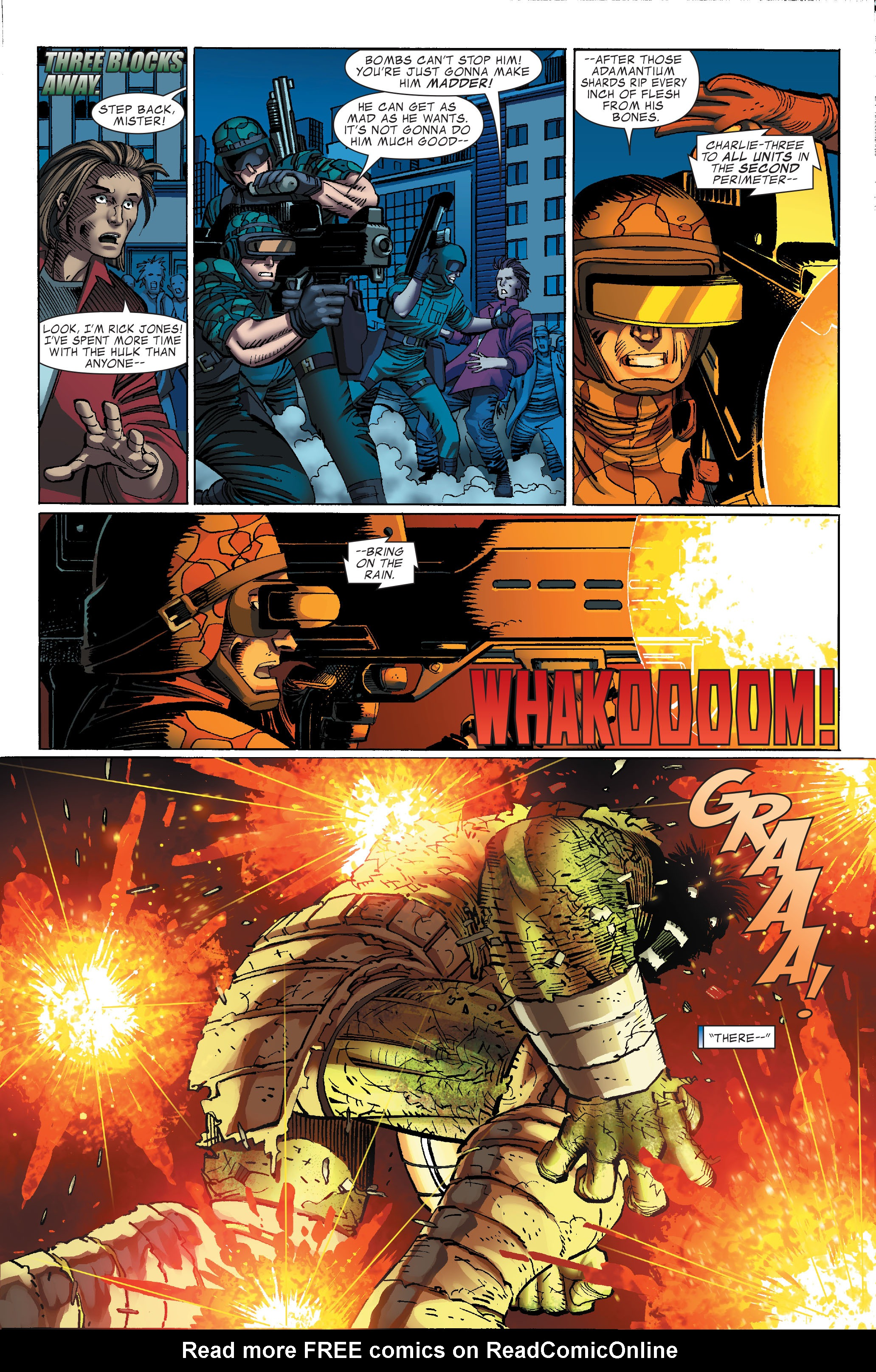 Read online World War Hulk comic -  Issue #3 - 7