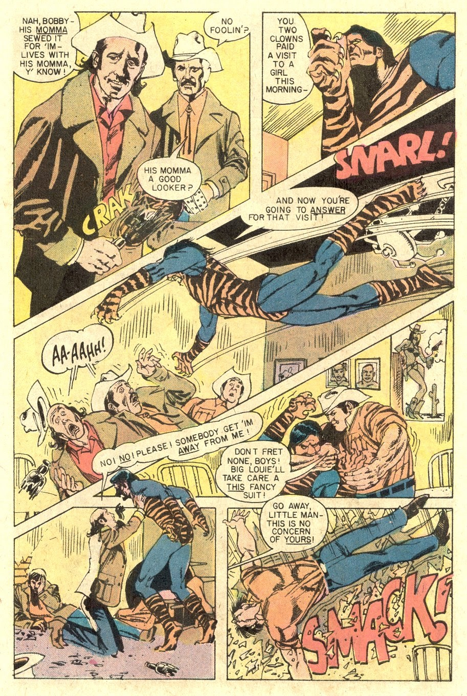 Read online Tiger-Man comic -  Issue #1 - 27