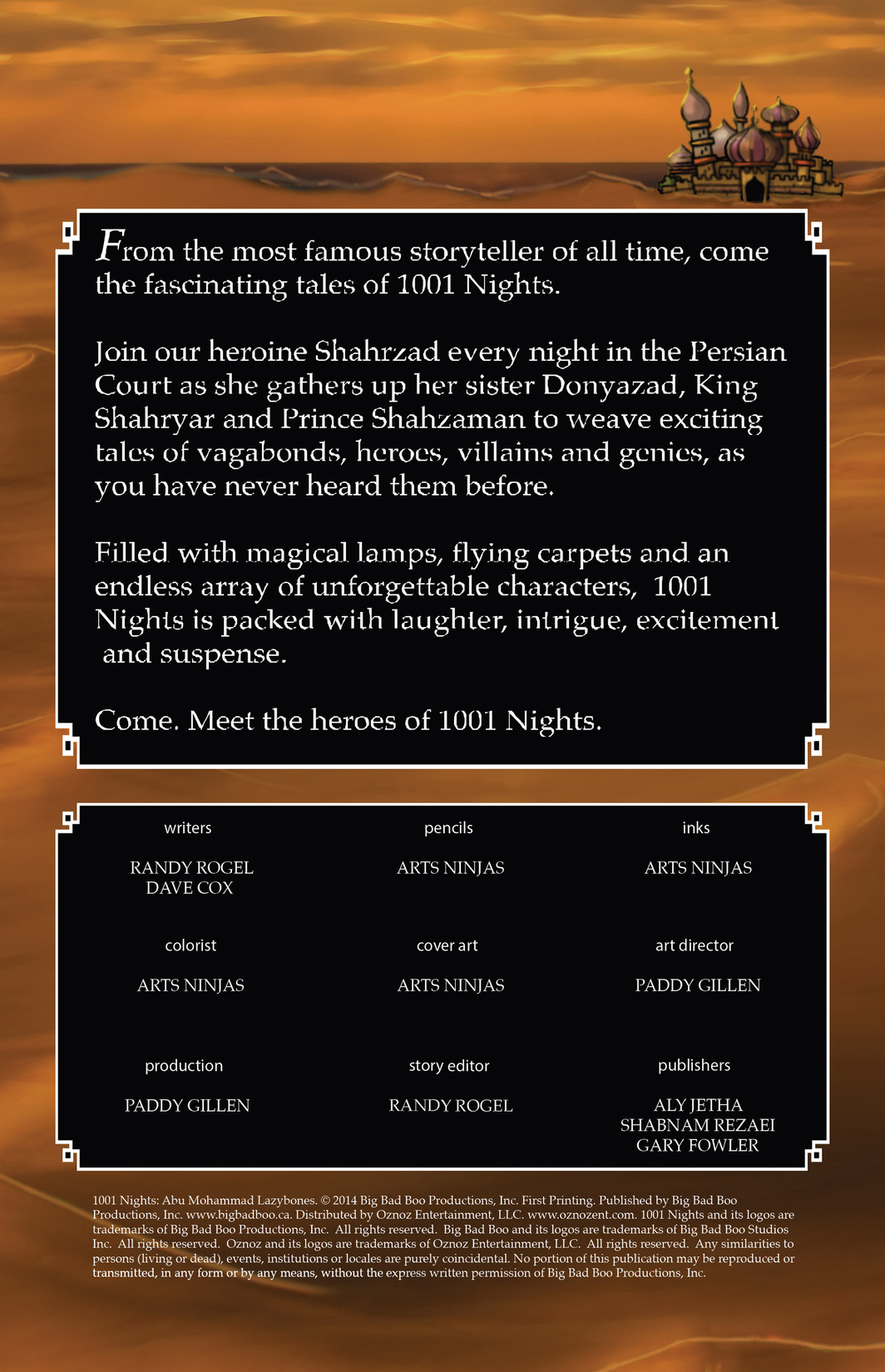 Read online 1001 Nights comic -  Issue #8 - 2
