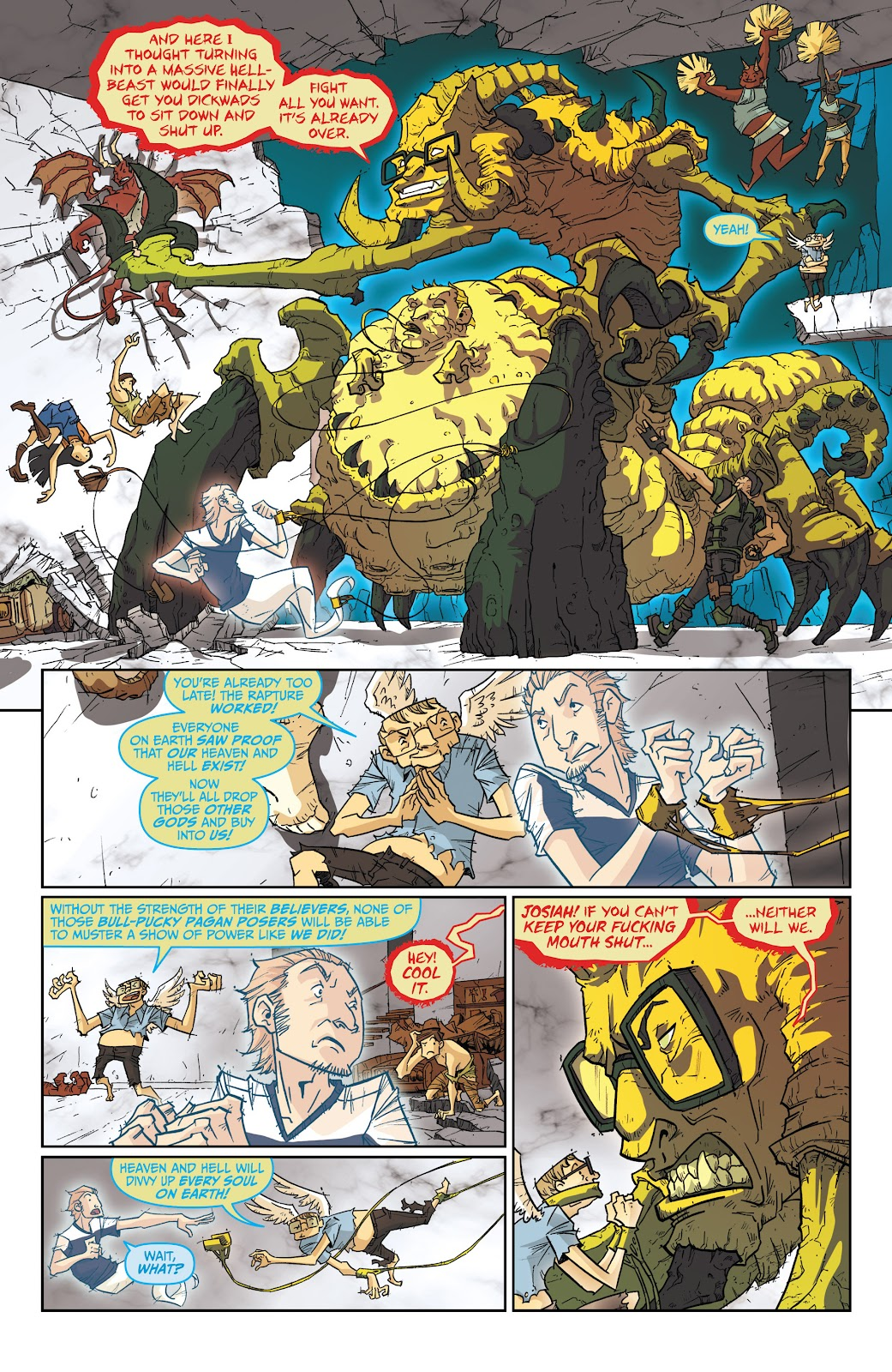 Read online The End Times of Bram and Ben comic -  Issue #4 - 21