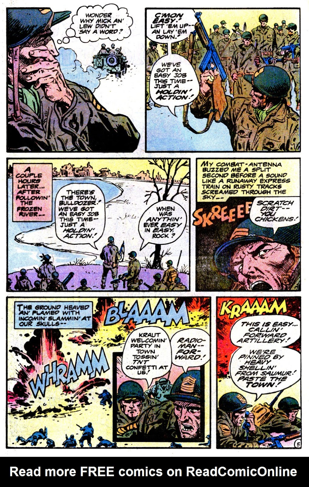 Sgt. Rock issue 360 - Page 5