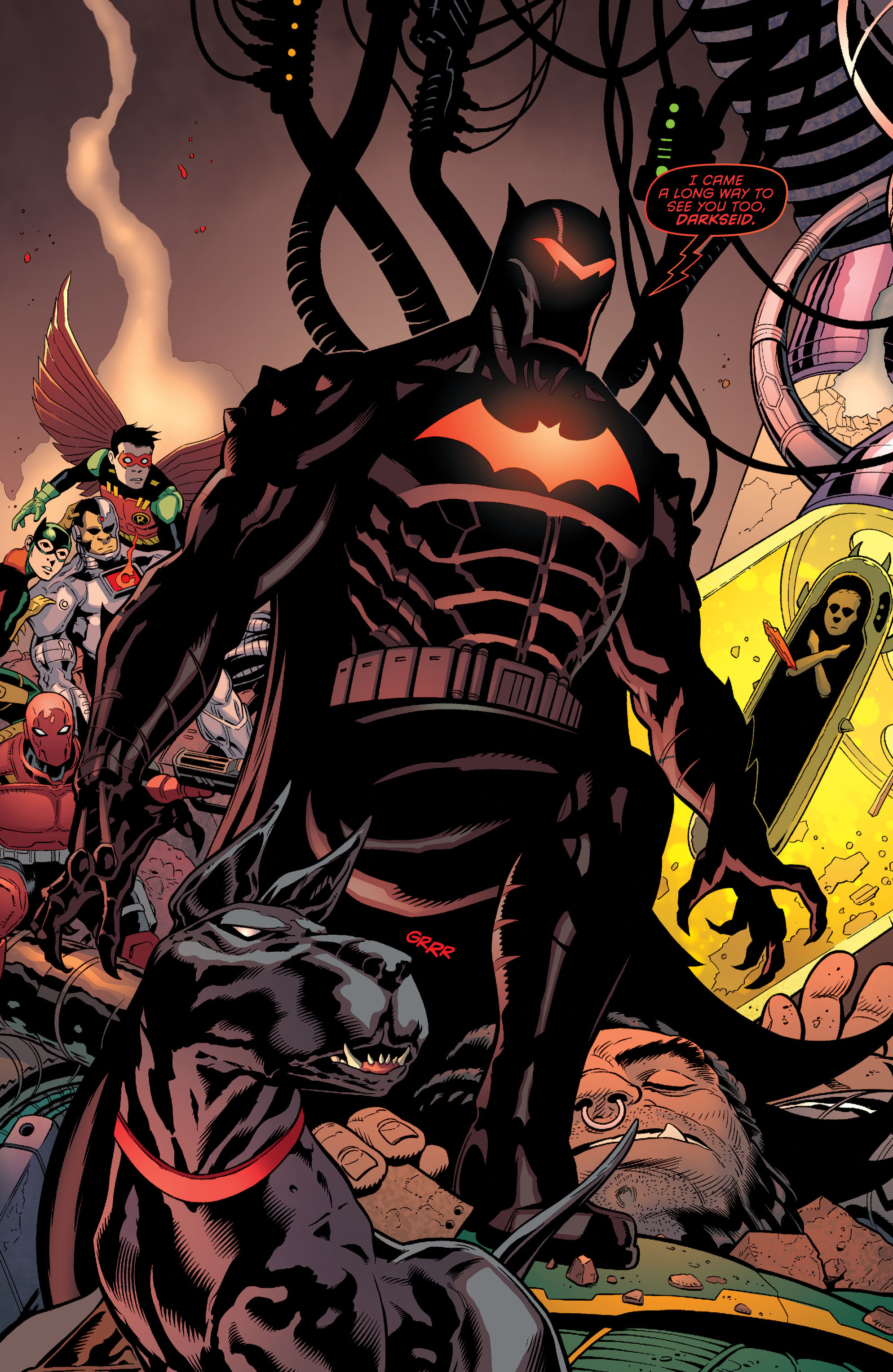 Read online Batman and Robin (2011) comic -  Issue #37 - 3