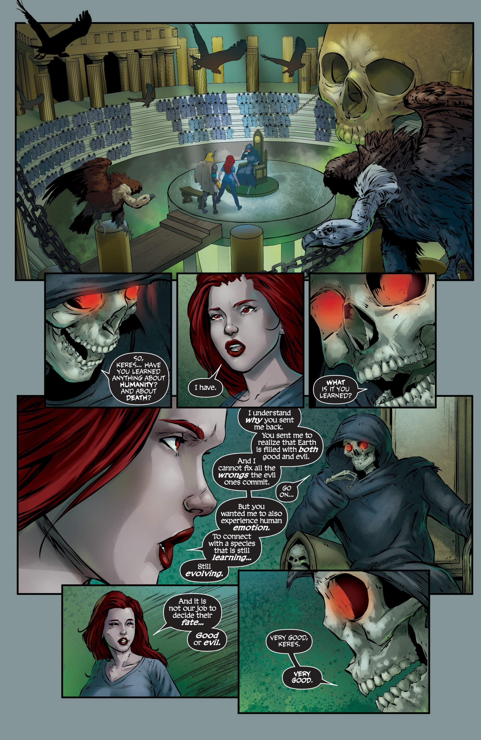 Read online Grimm Fairy Tales presents Death comic -  Issue # Full - 36