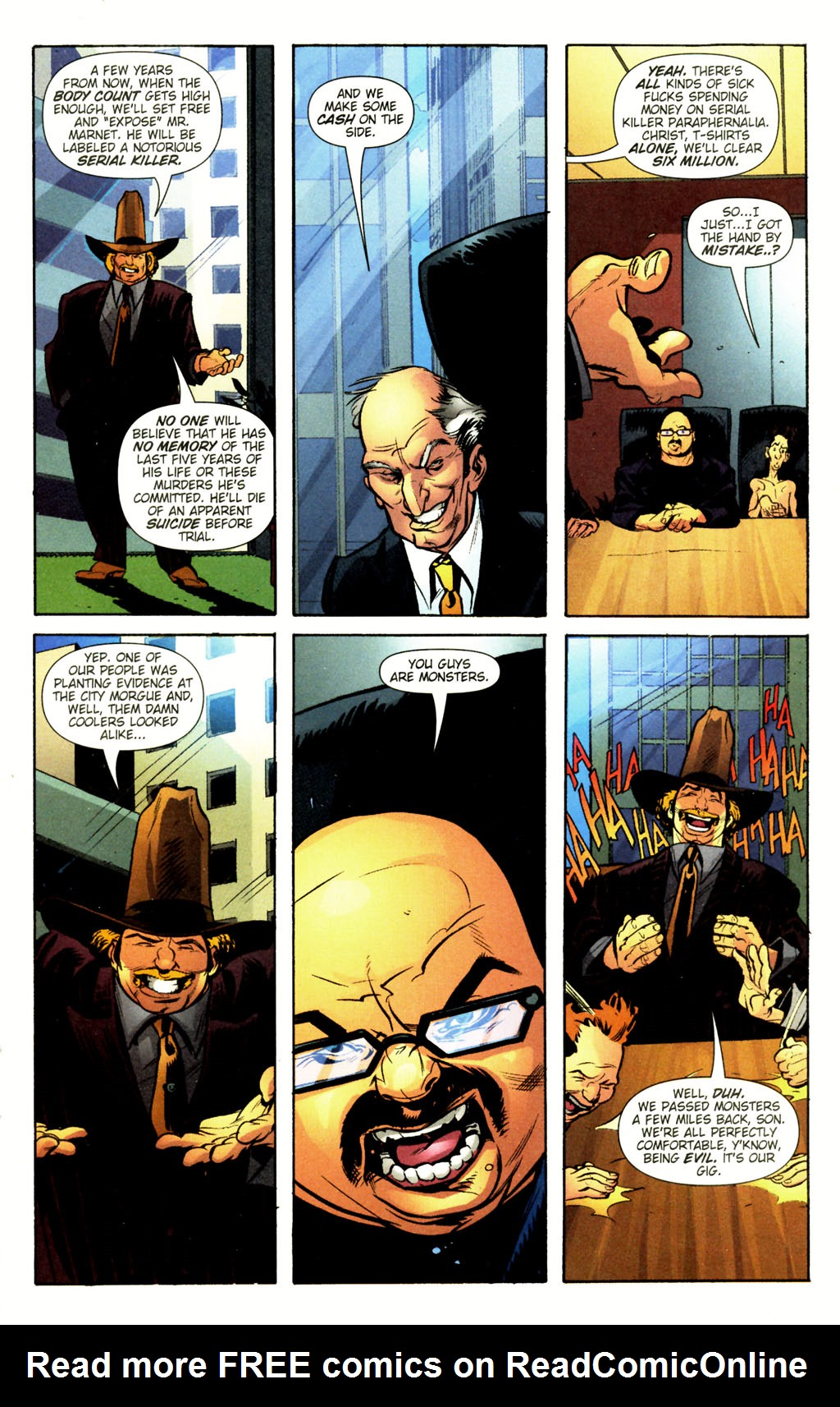 Read online Caper comic -  Issue #12 - 18