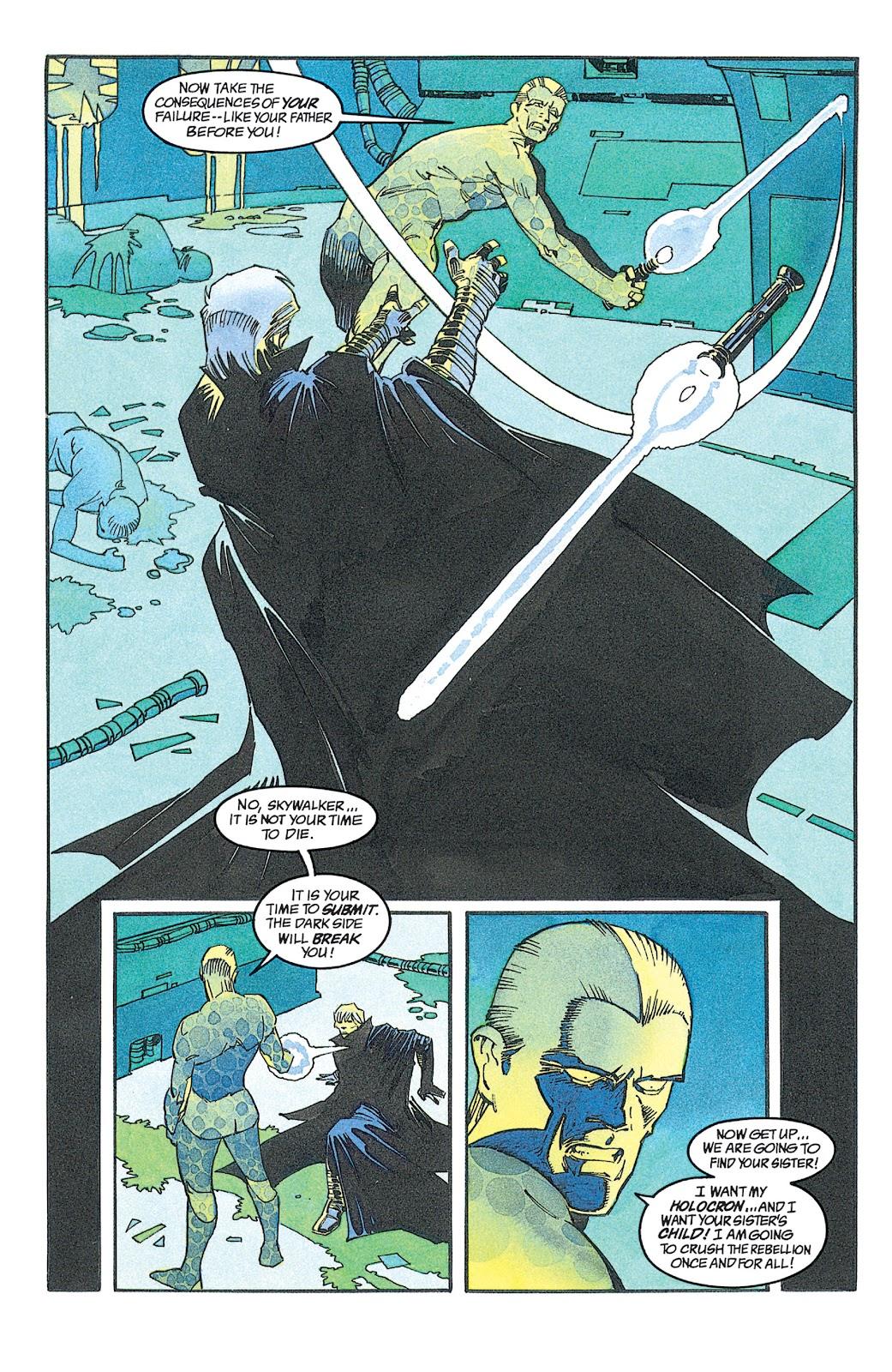 Read online Star Wars: Dark Empire Trilogy comic -  Issue # TPB (Part 2) - 30
