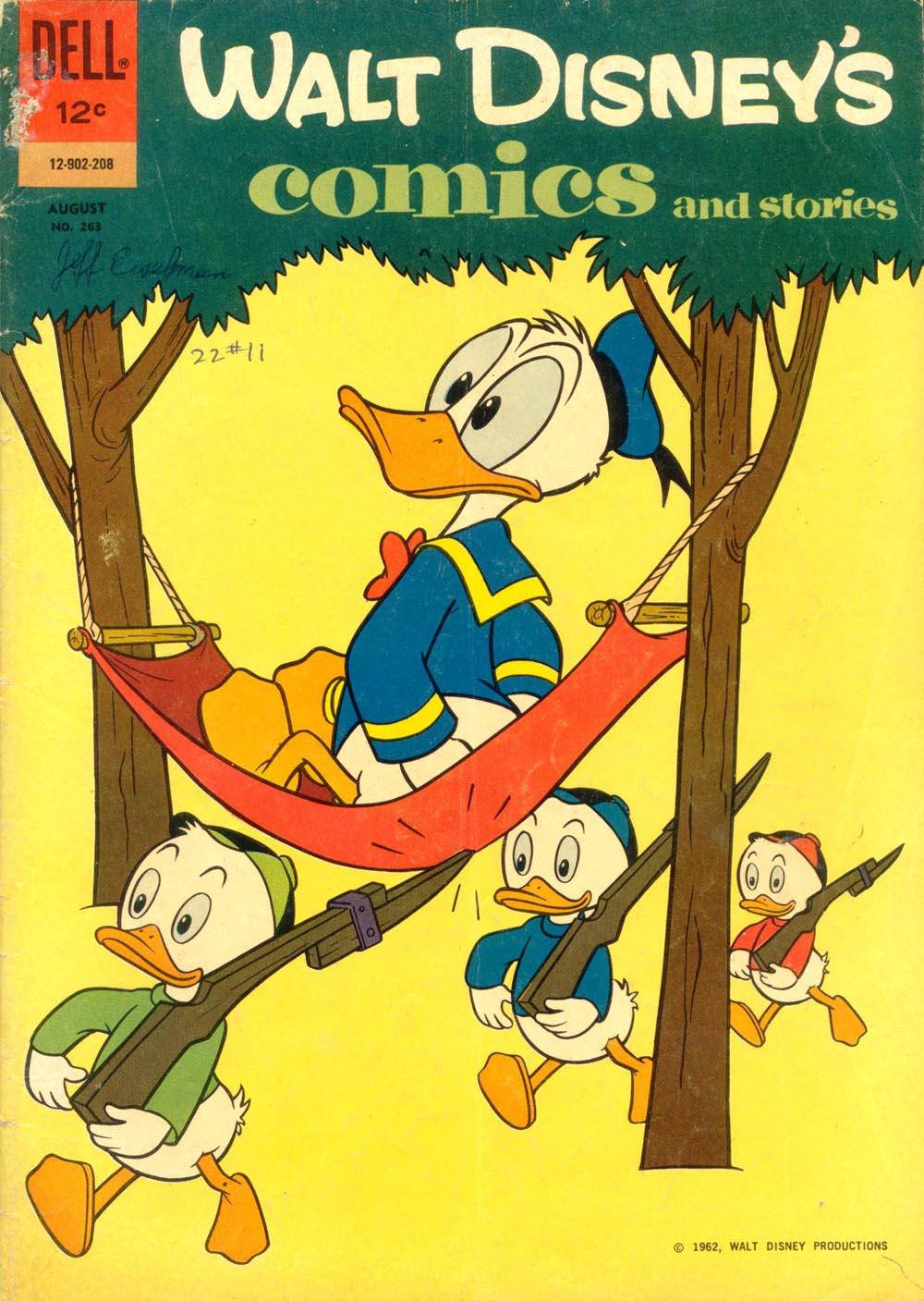 Walt Disneys Comics and Stories 263 Page 1