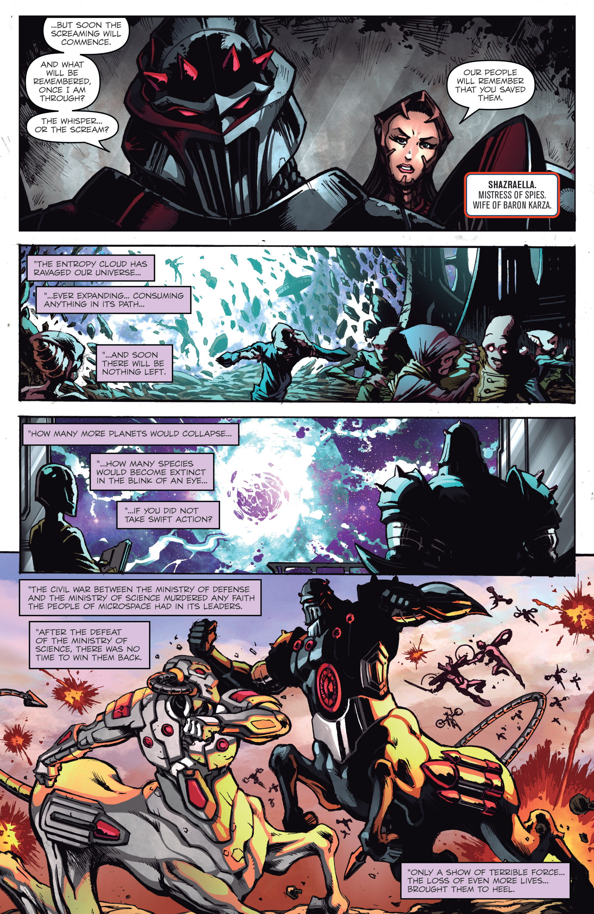 Read online Micronauts: Wrath of Karza comic -  Issue #1 - 8