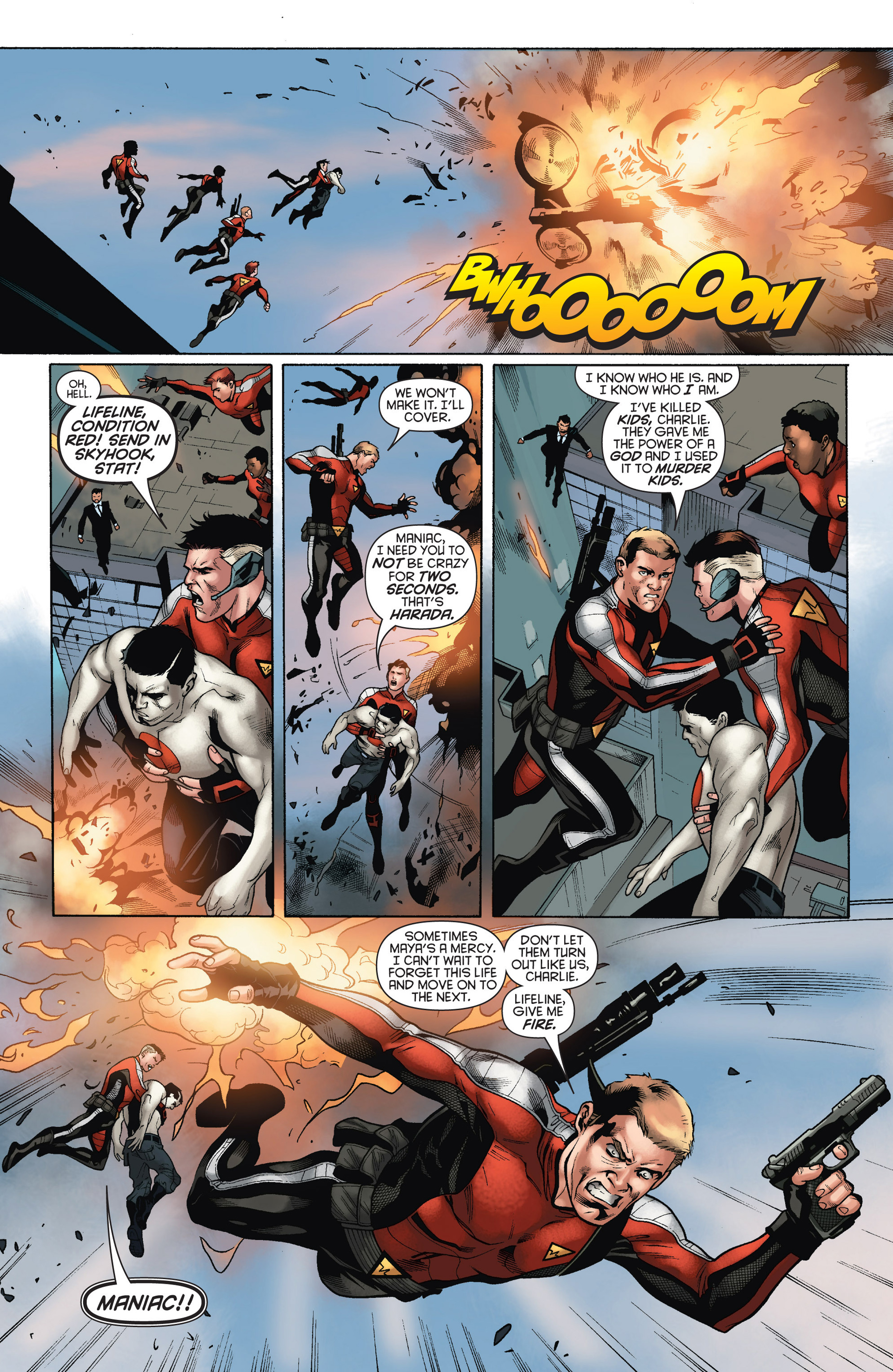 Read online Bloodshot and H.A.R.D.Corps comic -  Issue #15 - 10