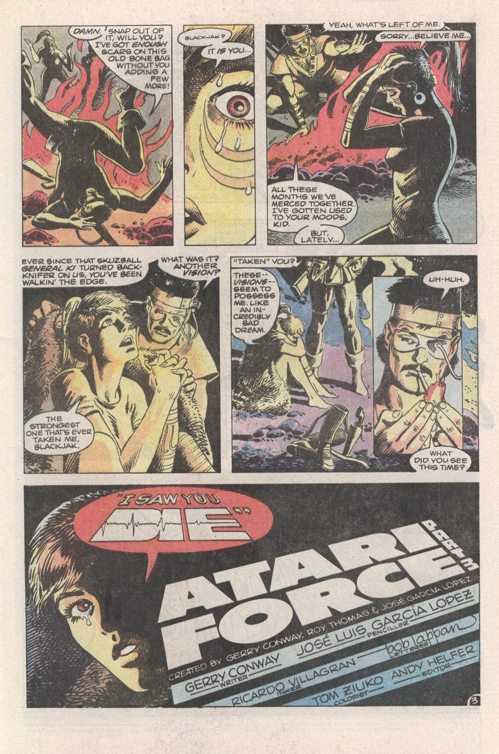 Read online Atari Force (1984) comic -  Issue #3 - 4