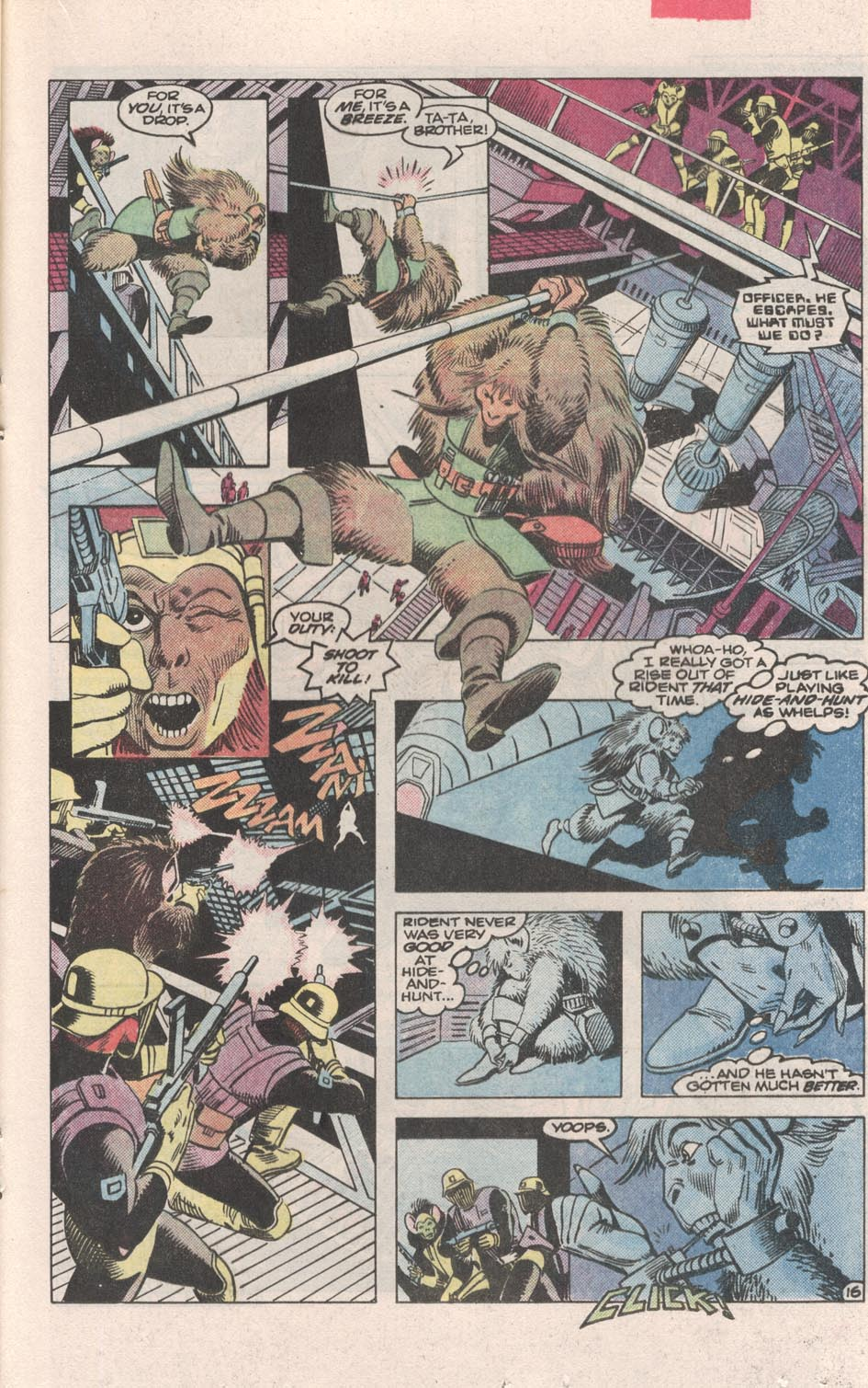 Read online Atari Force (1984) comic -  Issue #3 - 17